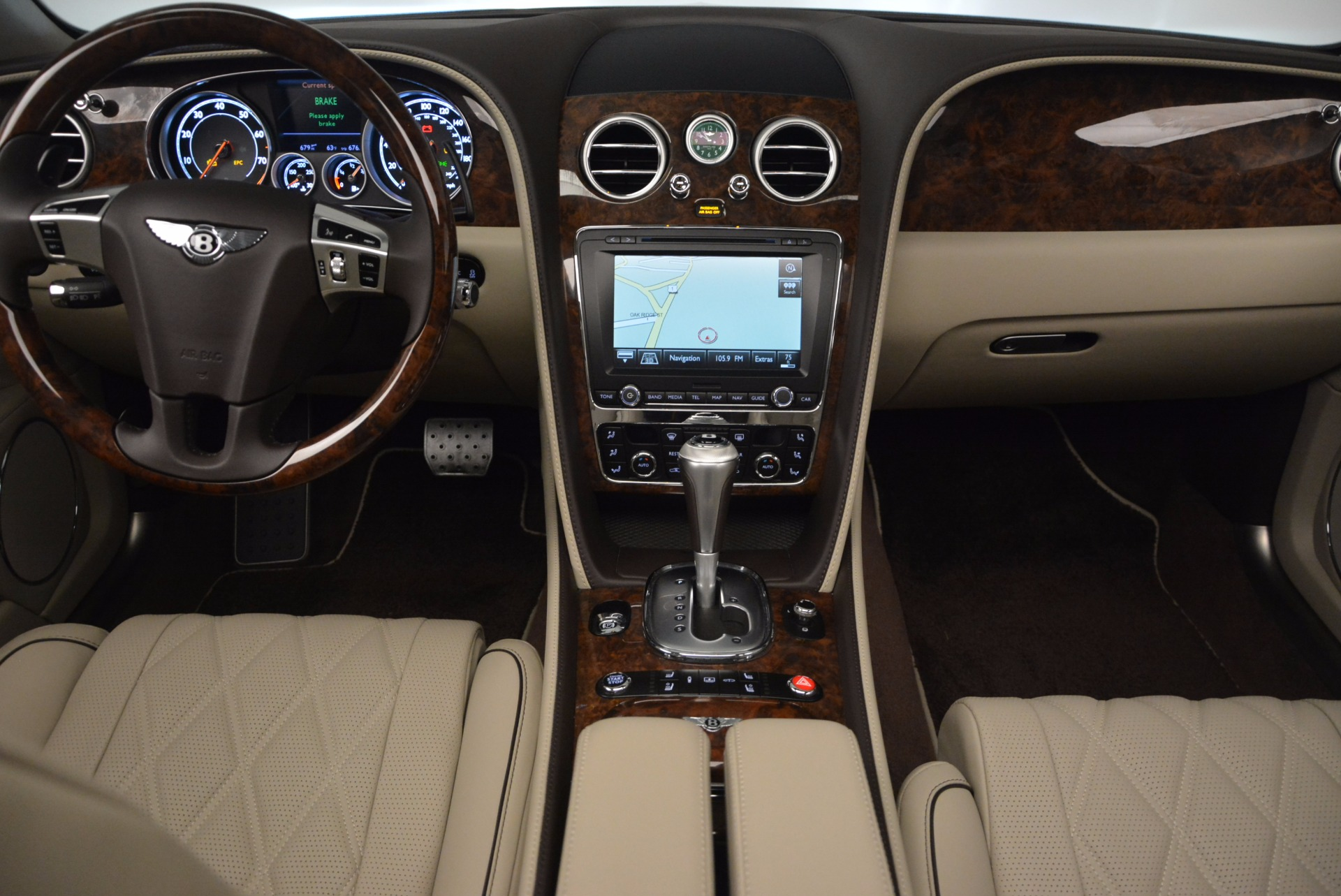 Used 2015 Bentley Flying Spur W12  For Sale In Westport, CT 694_p35