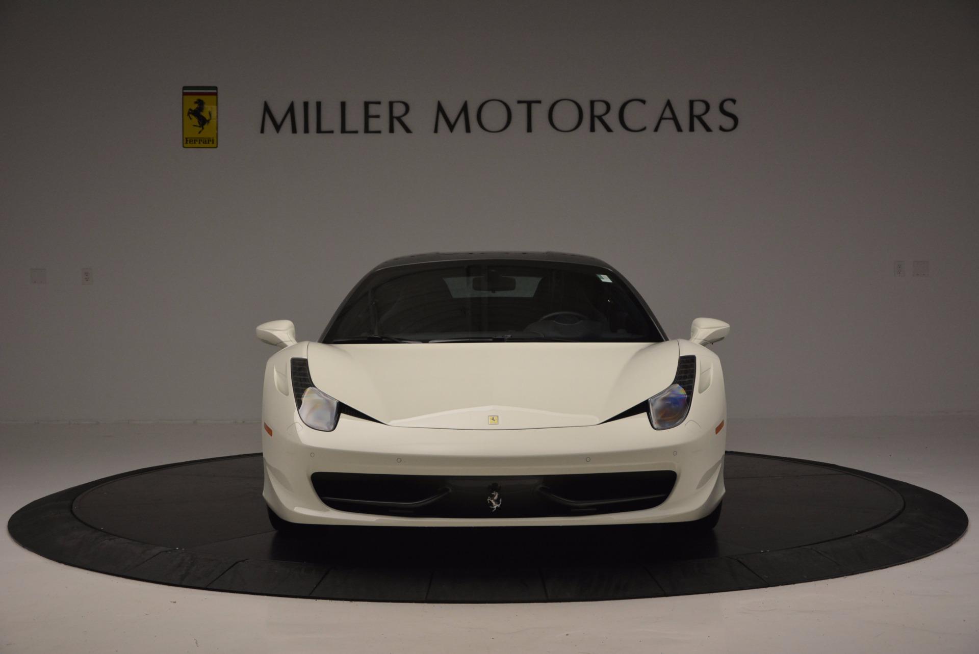 Used 2012 Ferrari 458 Italia  For Sale In Westport, CT 709_p12