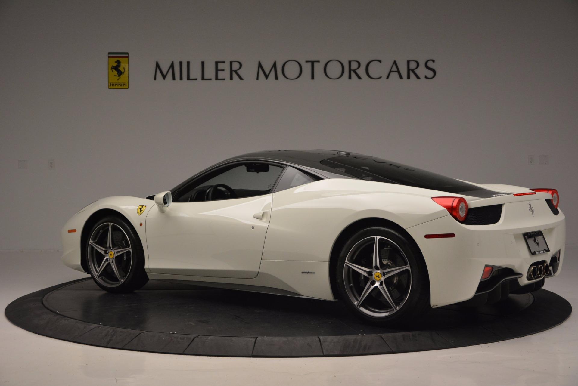 Used 2012 Ferrari 458 Italia  For Sale In Westport, CT 709_p4