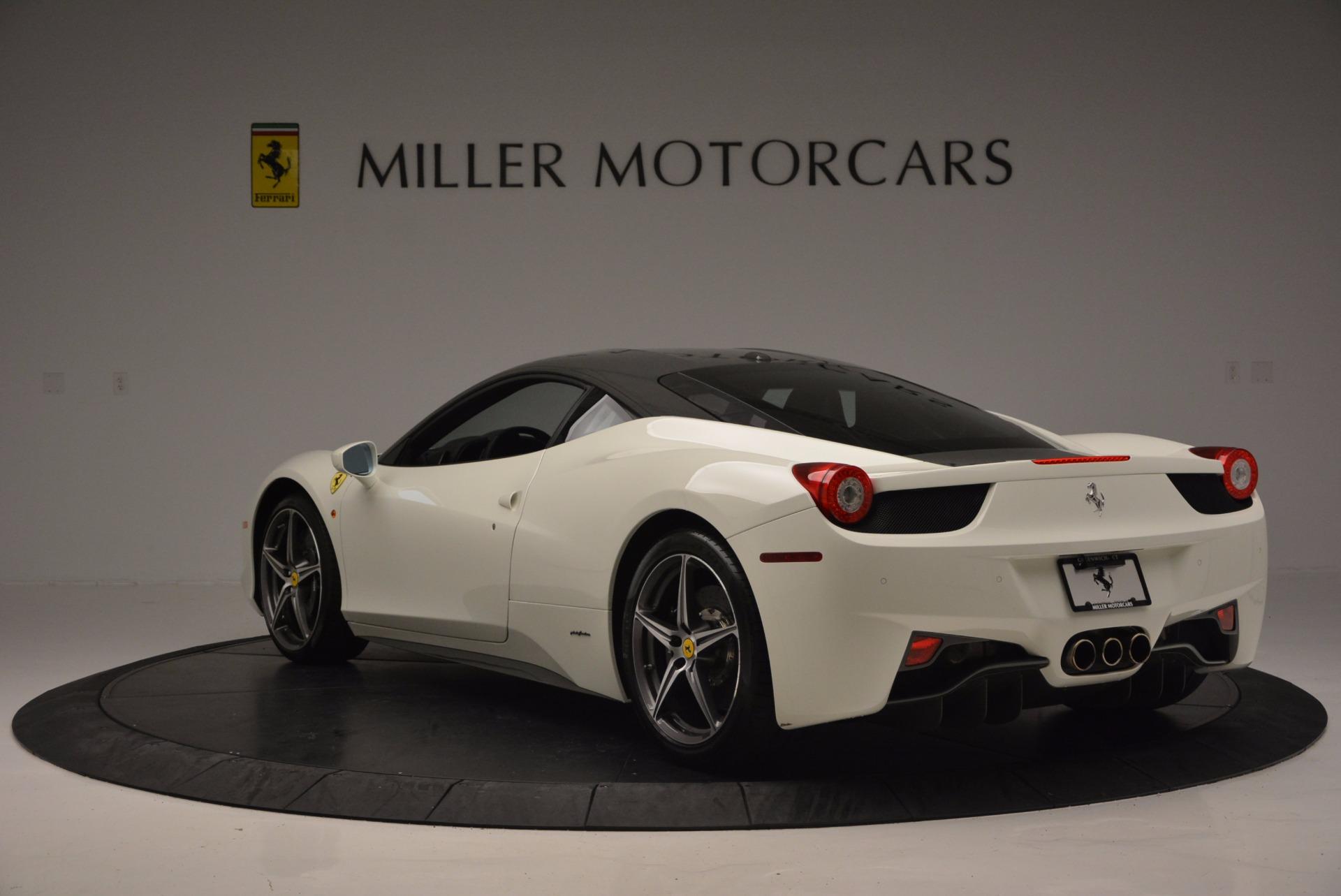 Used 2012 Ferrari 458 Italia  For Sale In Westport, CT 709_p5
