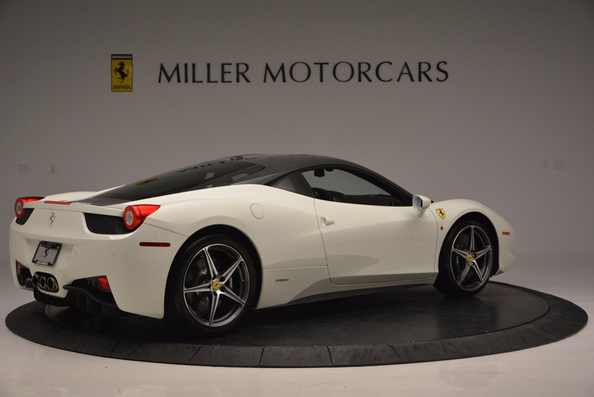 Used 2012 Ferrari 458 Italia  For Sale In Westport, CT 709_p8