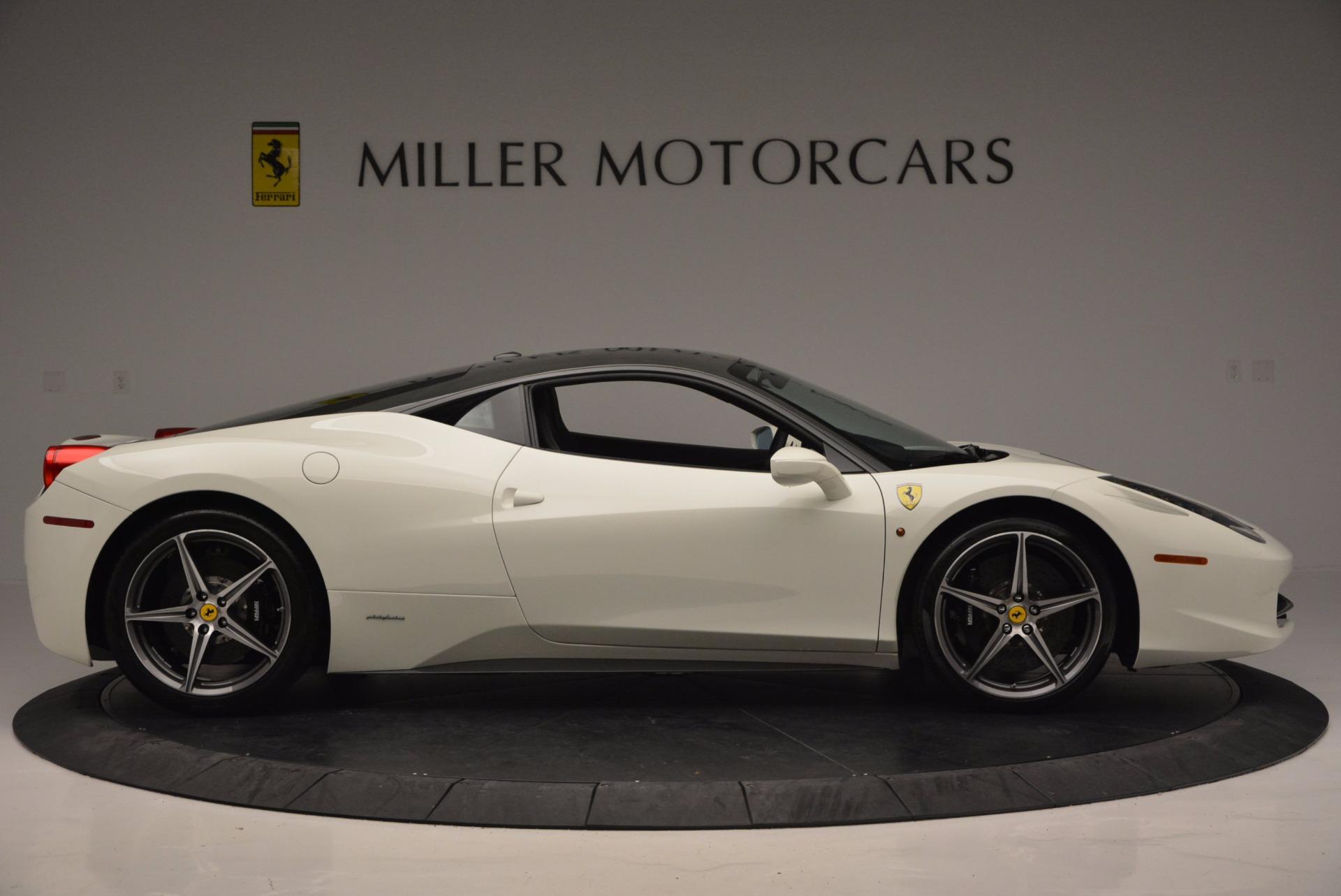 Used 2012 Ferrari 458 Italia  For Sale In Westport, CT 709_p9