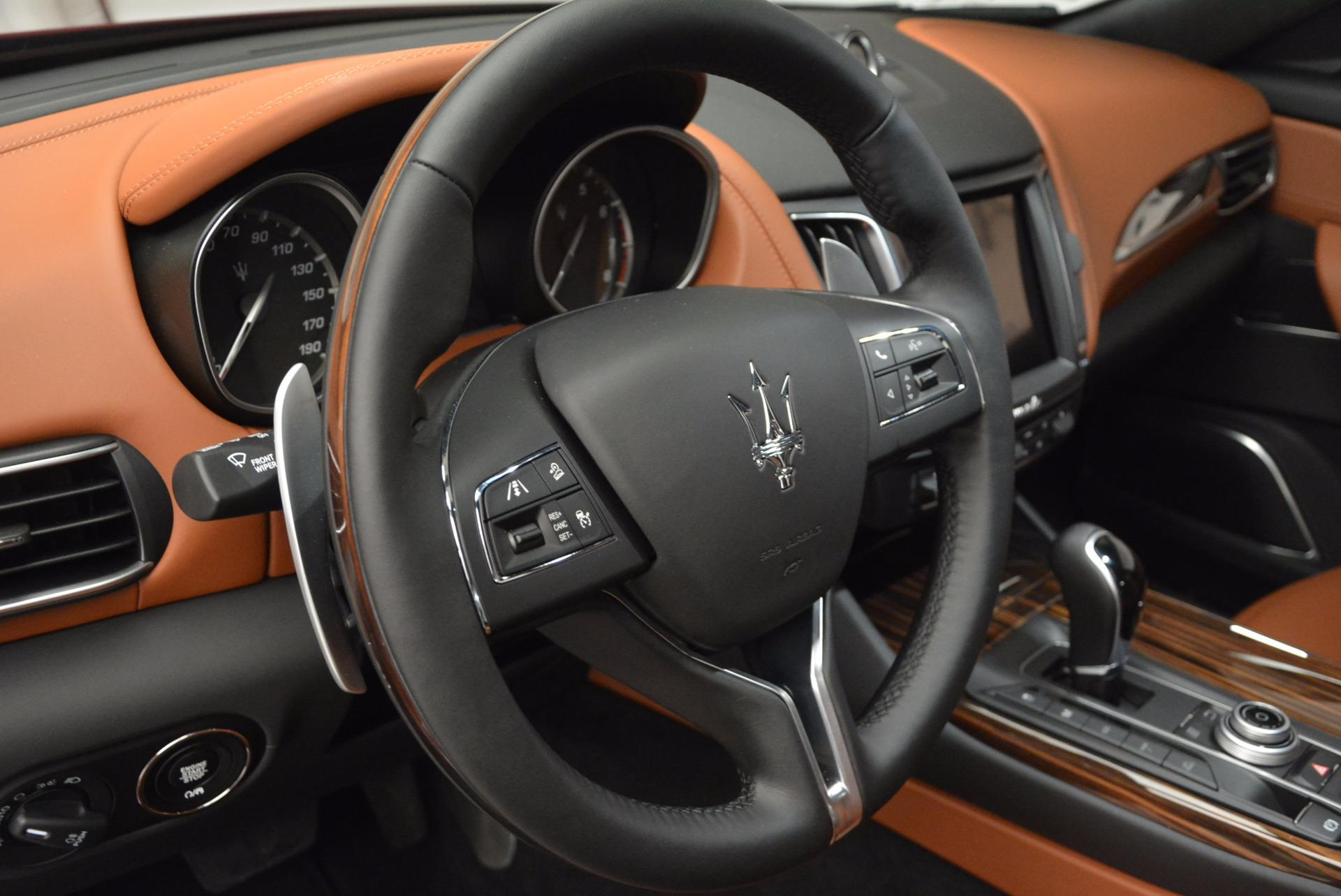 New 2017 Maserati Levante S For Sale In Westport, CT 717_p14