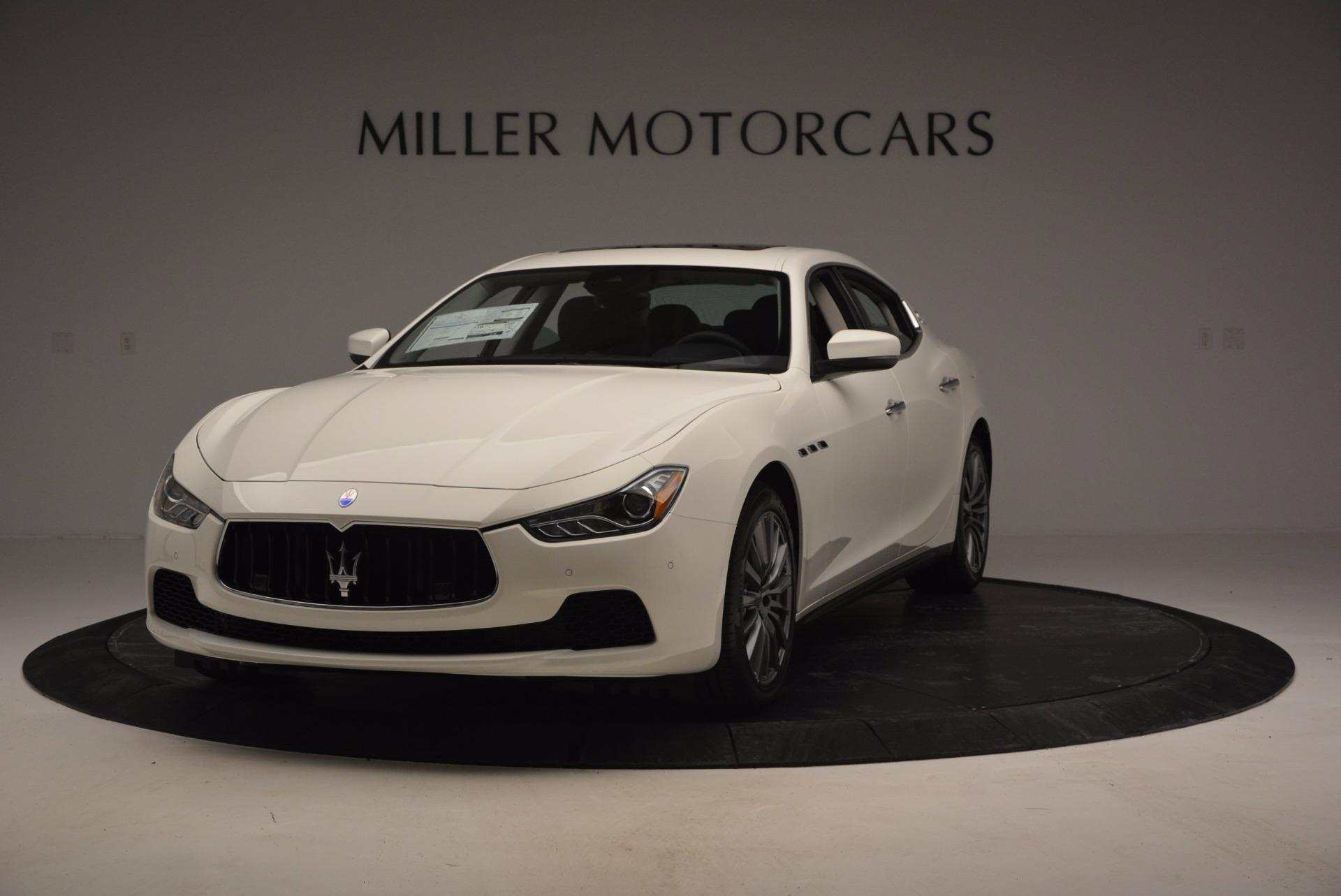 New 2017 Maserati Ghibli SQ4 For Sale In Westport, CT 724_main