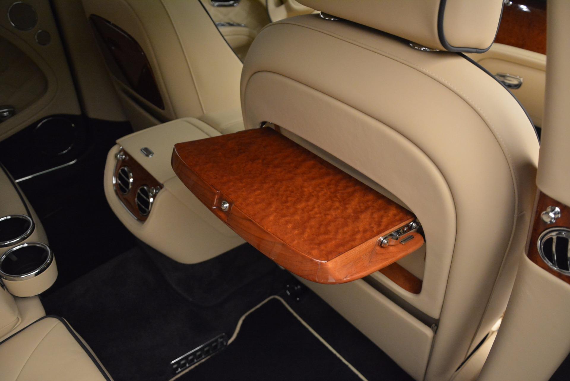 Used 2016 Bentley Mulsanne  For Sale In Westport, CT 742_p37