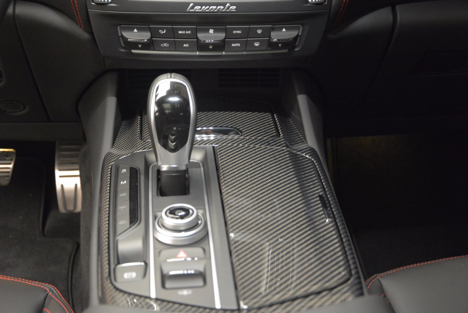 New 2017 Maserati Levante S For Sale In Westport, CT 747_p20