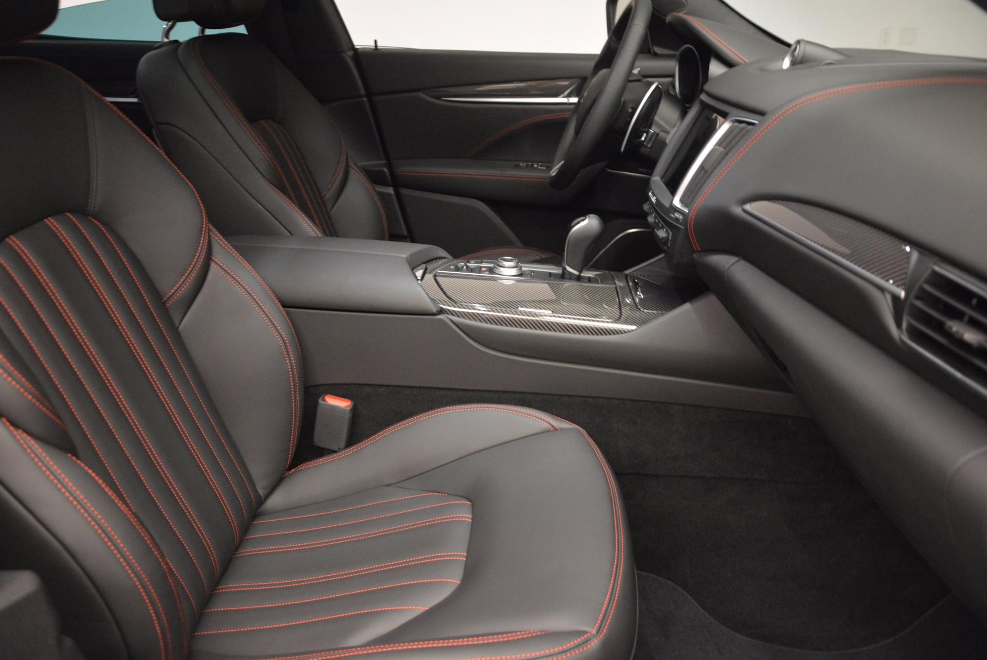 New 2017 Maserati Levante S For Sale In Westport, CT 747_p25