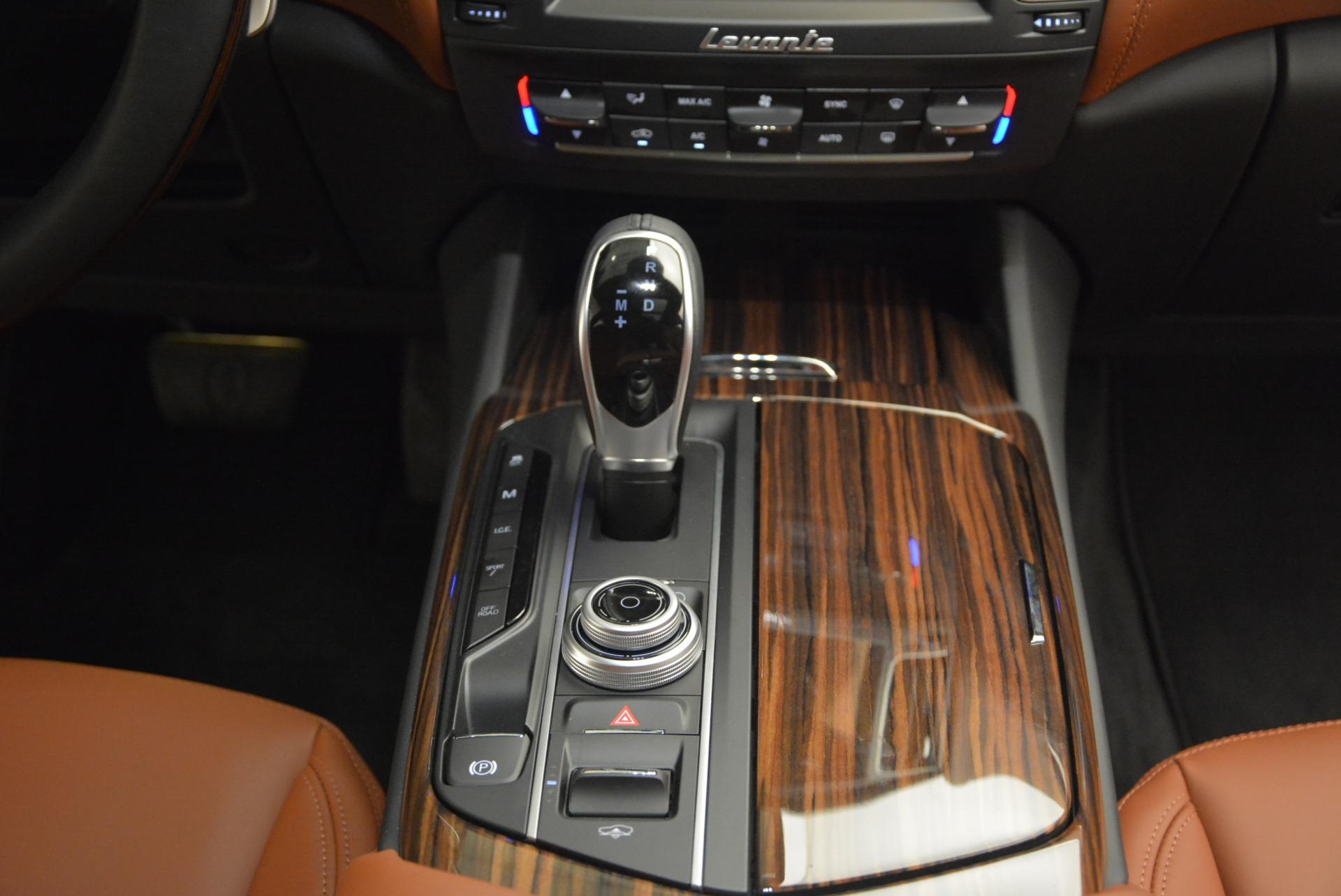 New 2017 Maserati Levante S For Sale In Westport, CT 750_p28