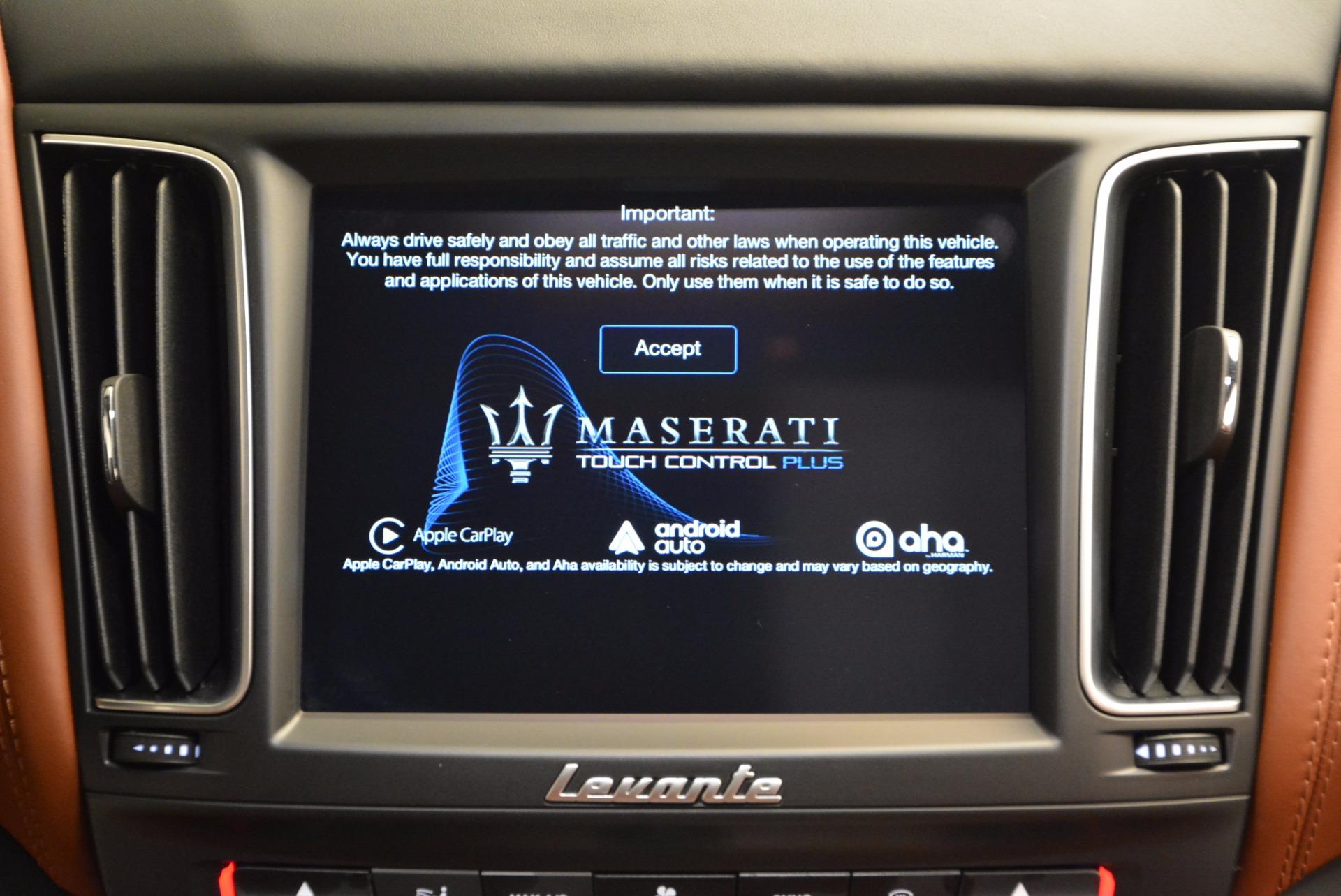 Used 2017 Maserati Levante S For Sale In Westport, CT 752_p34