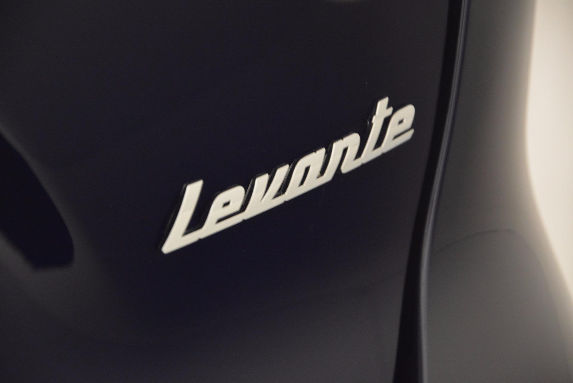 Used 2017 Maserati Levante S For Sale In Westport, CT 752_p7