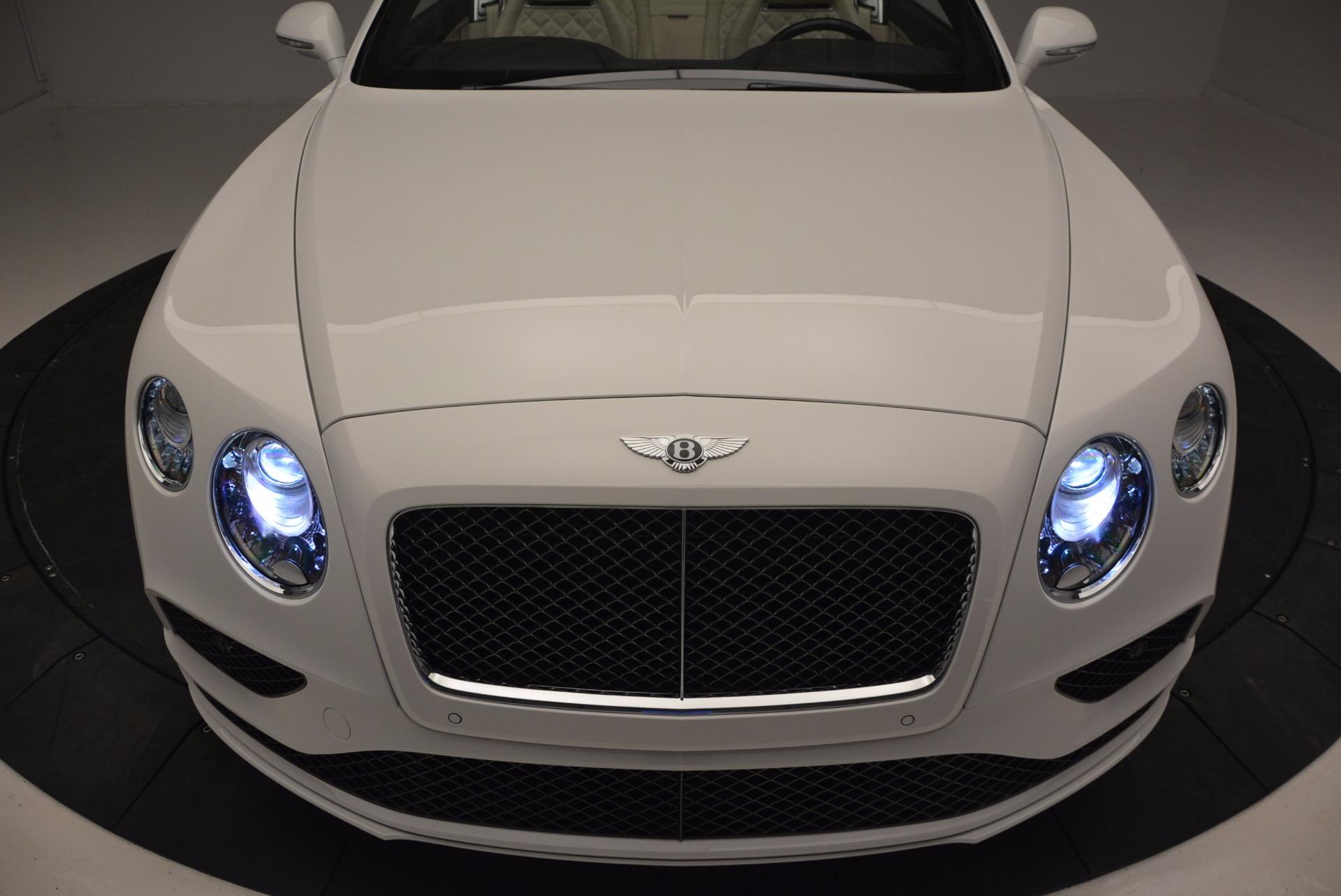 New 2017 Bentley Continental GT Speed Convertible  For Sale In Westport, CT 761_p27
