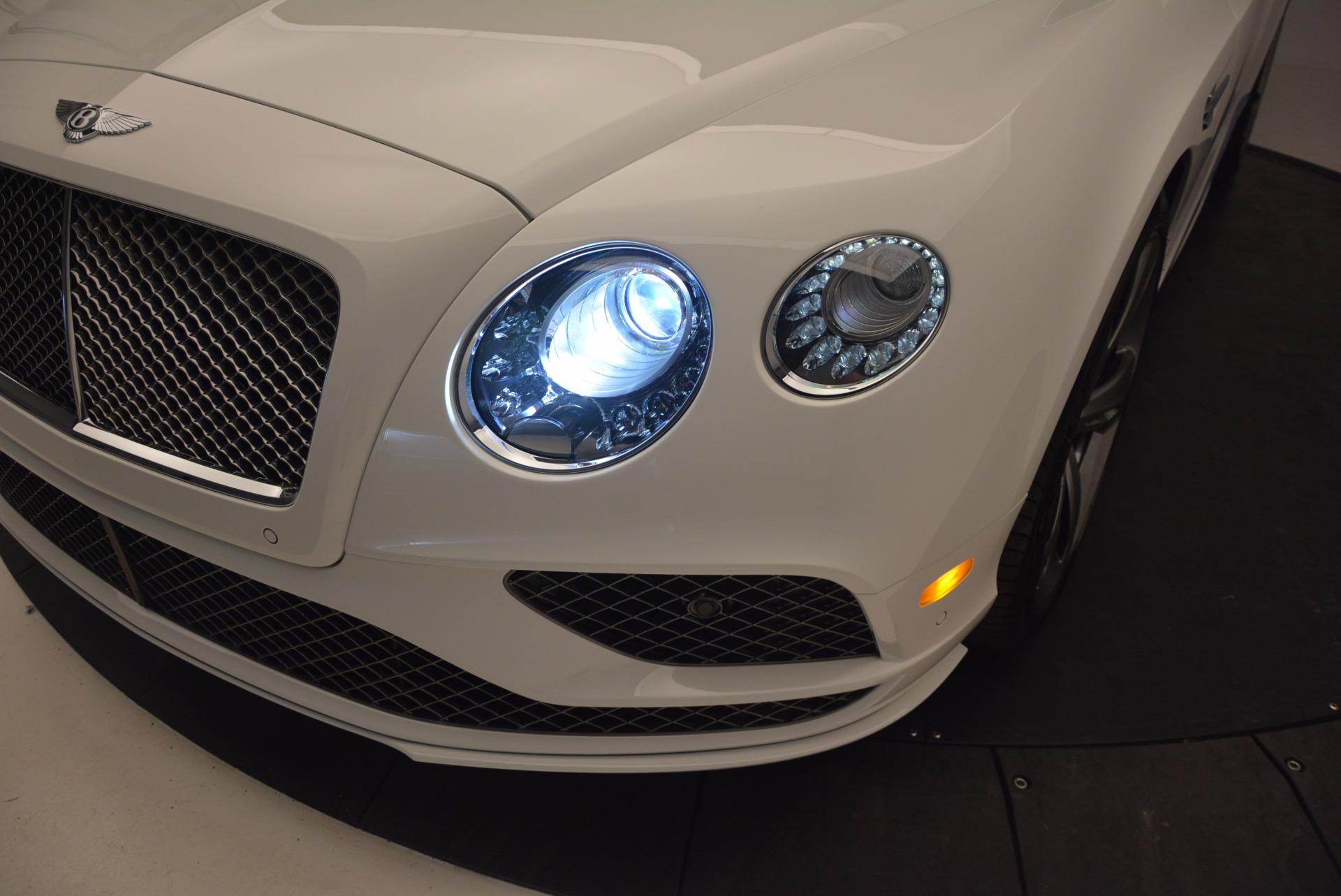 New 2017 Bentley Continental GT Speed Convertible  For Sale In Westport, CT 761_p28