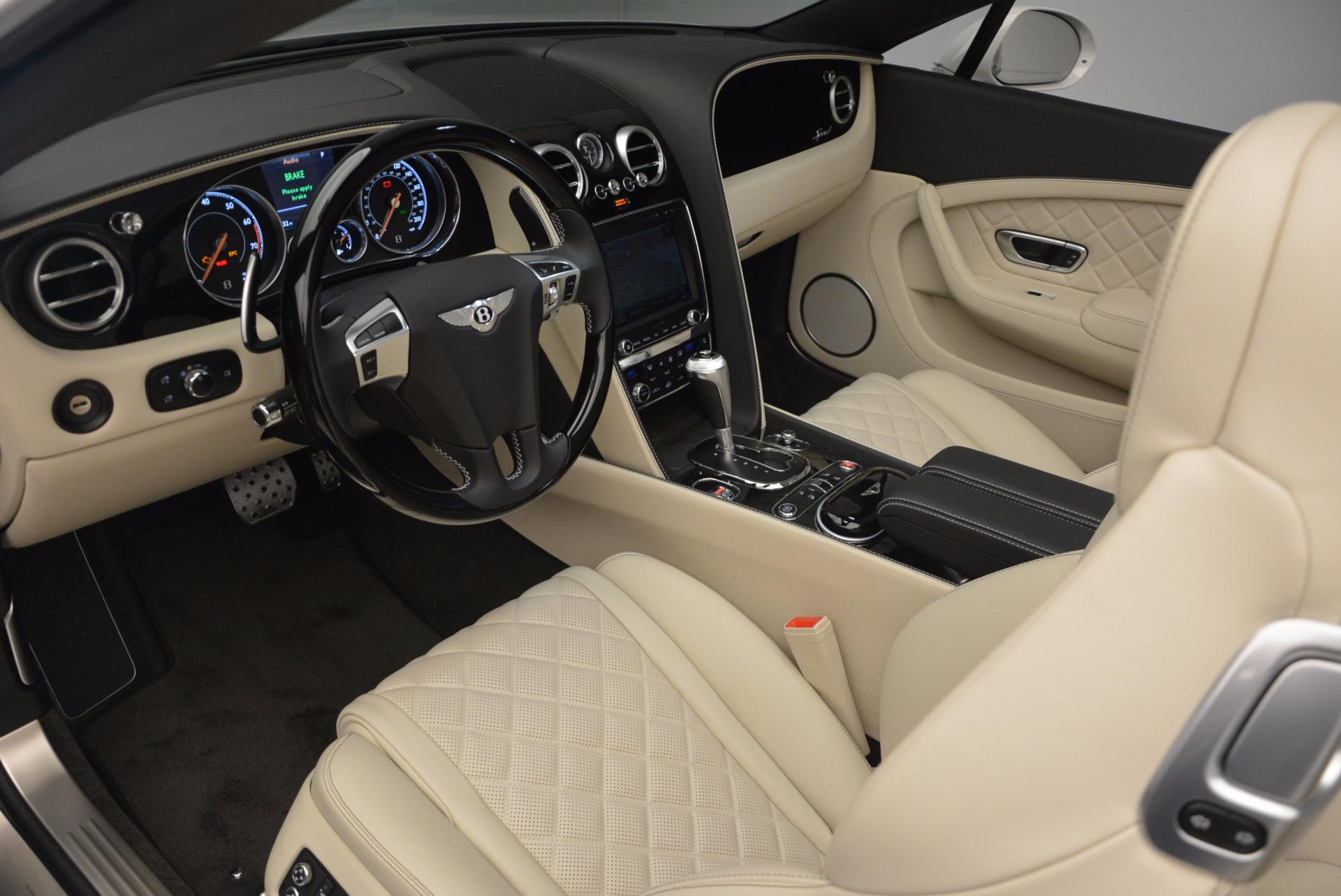 New 2017 Bentley Continental GT Speed Convertible  For Sale In Westport, CT 761_p38