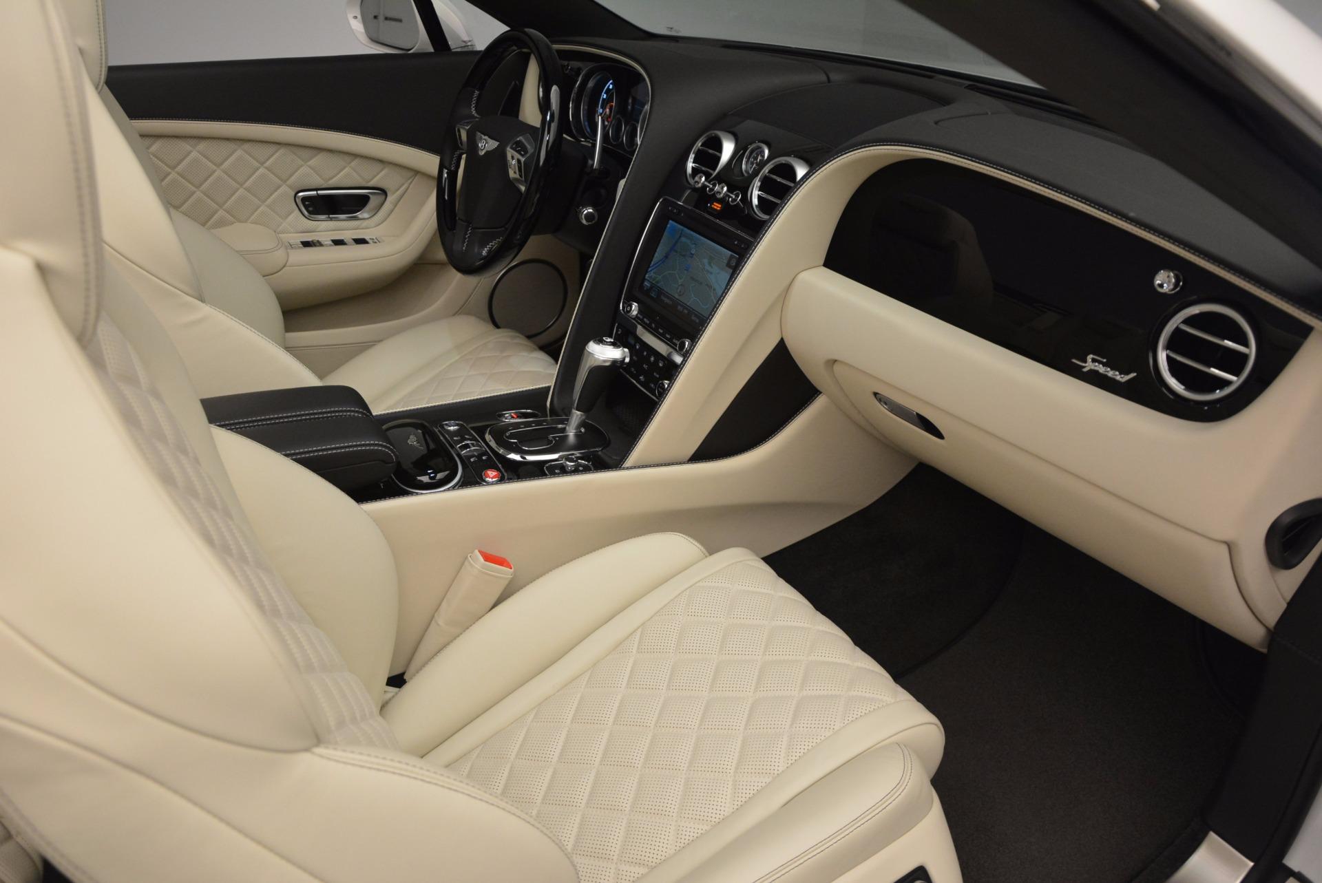 New 2017 Bentley Continental GT Speed Convertible  For Sale In Westport, CT 761_p45