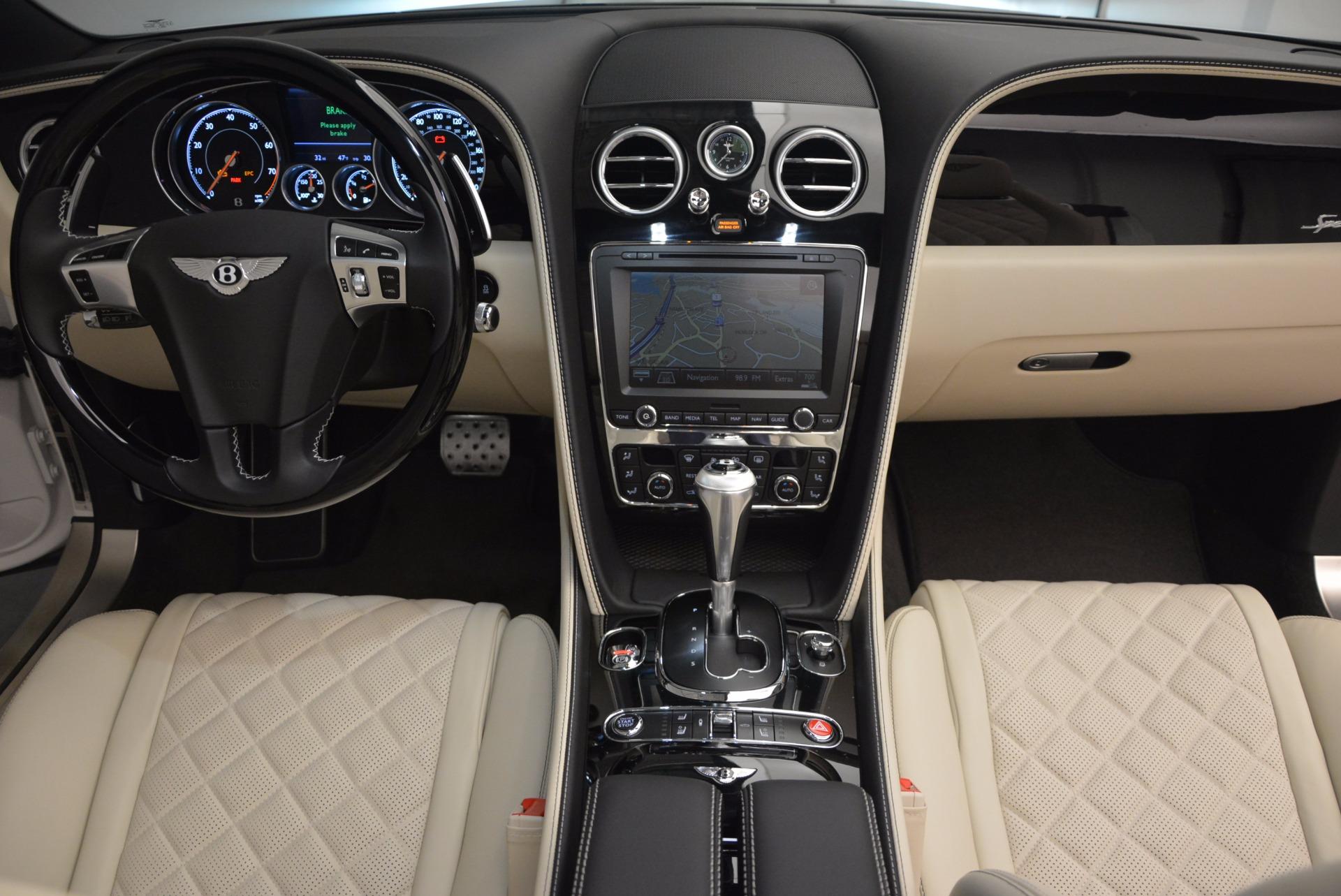 New 2017 Bentley Continental GT Speed Convertible  For Sale In Westport, CT 761_p52