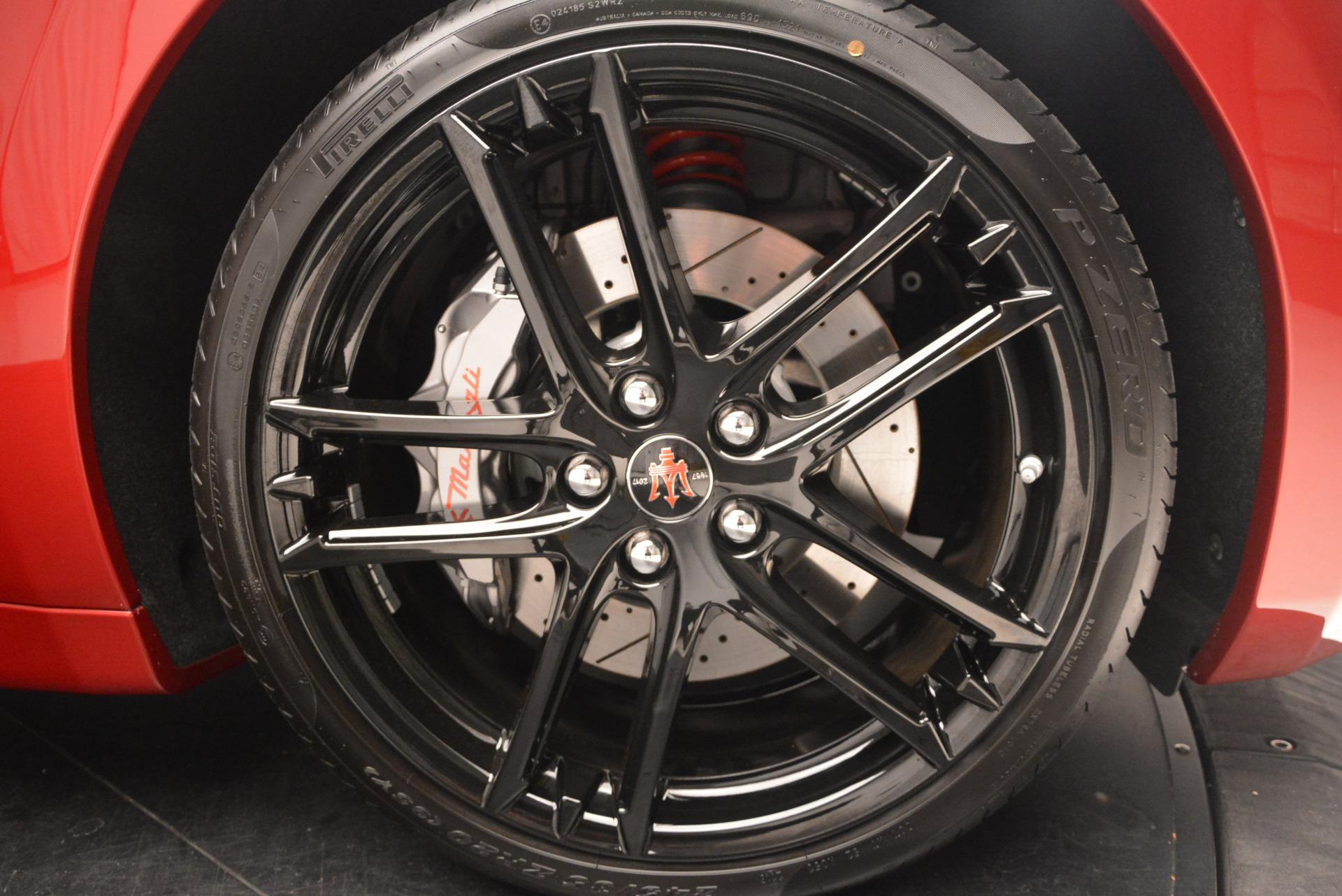 New 2017 Maserati GranTurismo Sport Special Edition For Sale In Westport, CT 763_p39