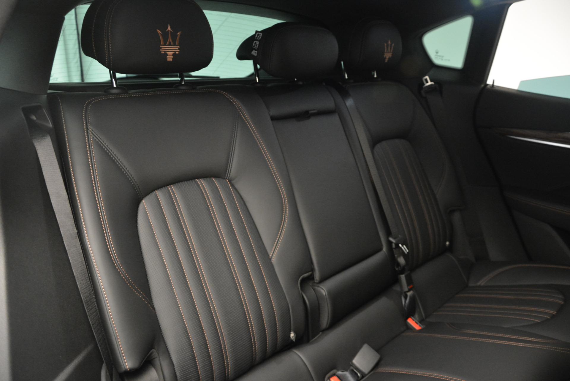 Used 2017 Maserati Levante S Ex Service Loaner For Sale In Westport, CT 764_p30