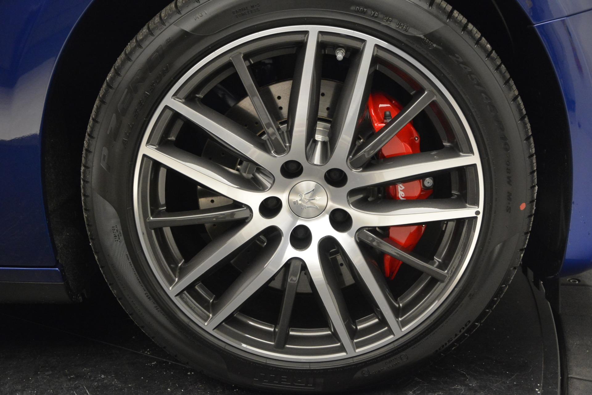 New 2017 Maserati Ghibli S Q4 For Sale In Westport, CT 767_p27
