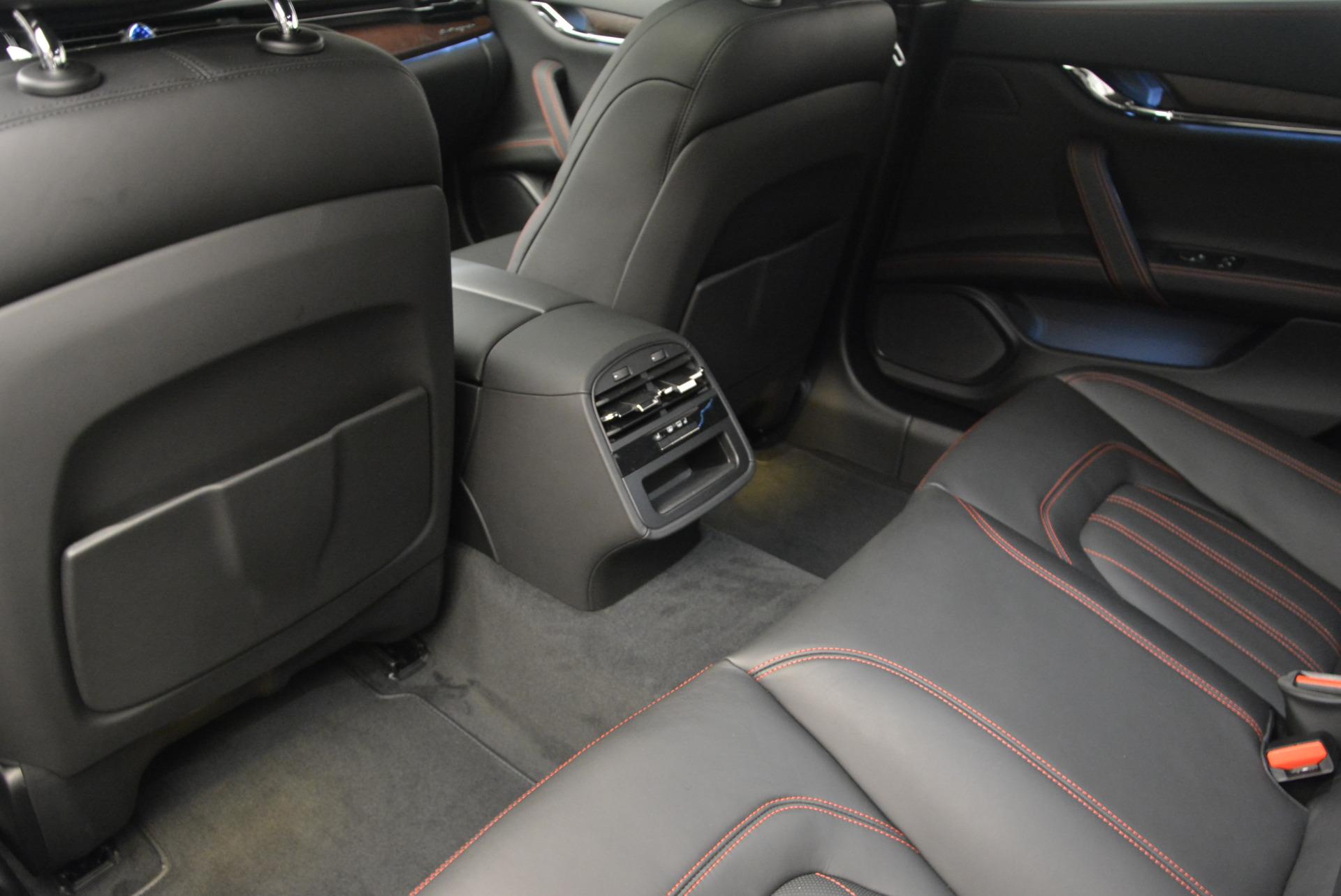 New 2017 Maserati Quattroporte S Q4 GranLusso For Sale In Westport, CT 793_p13