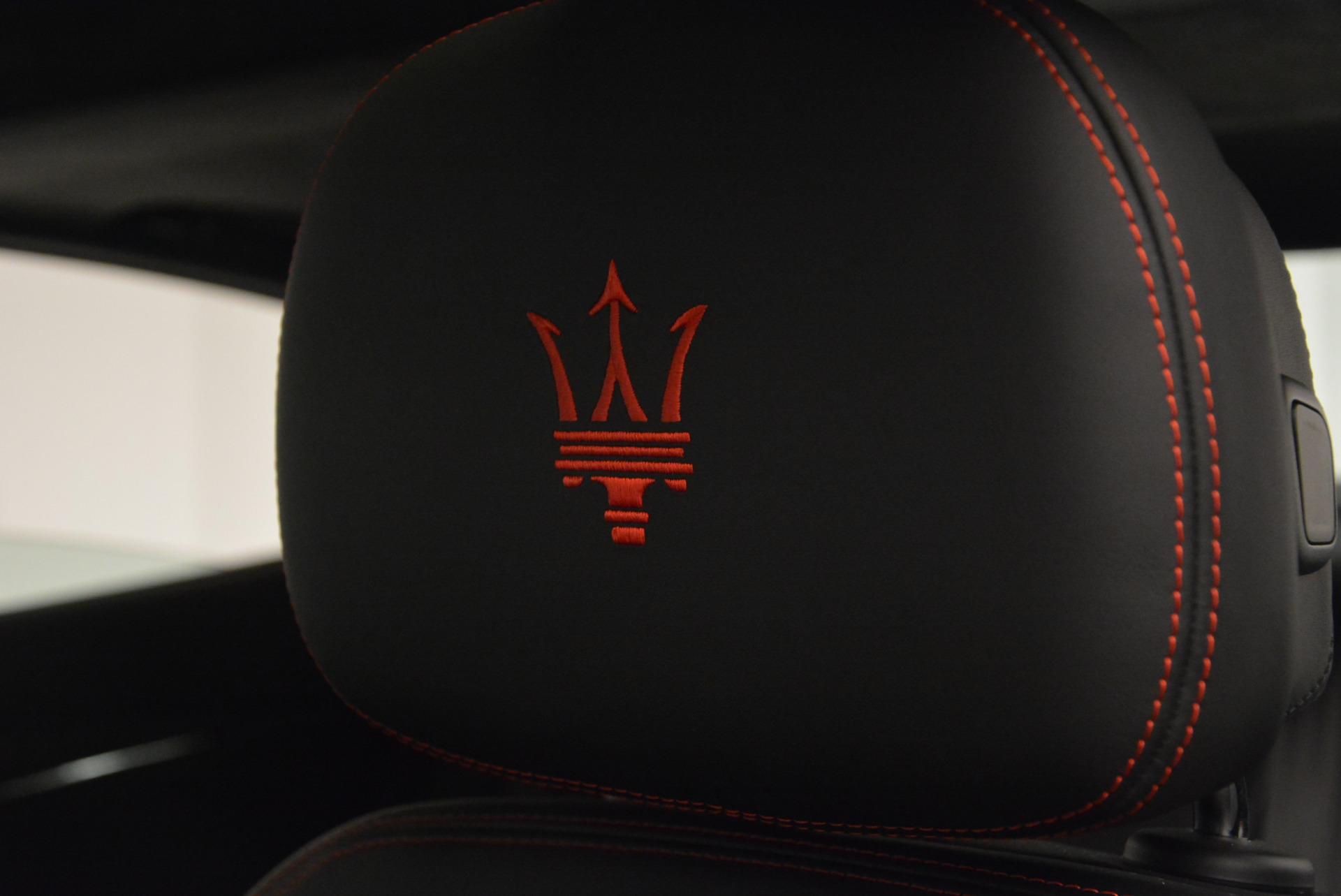 New 2017 Maserati Quattroporte S Q4 GranLusso For Sale In Westport, CT 793_p19