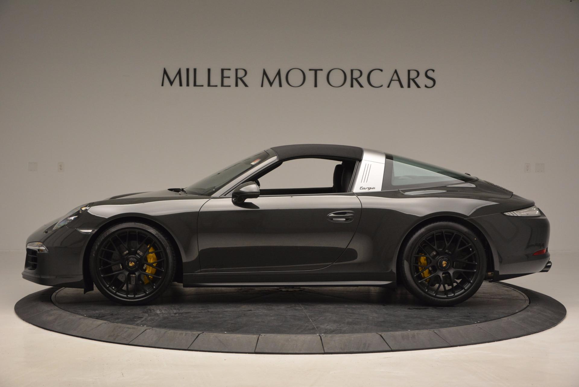 Used 2016 Porsche 911 Targa 4 GTS For Sale In Westport, CT 799_p14
