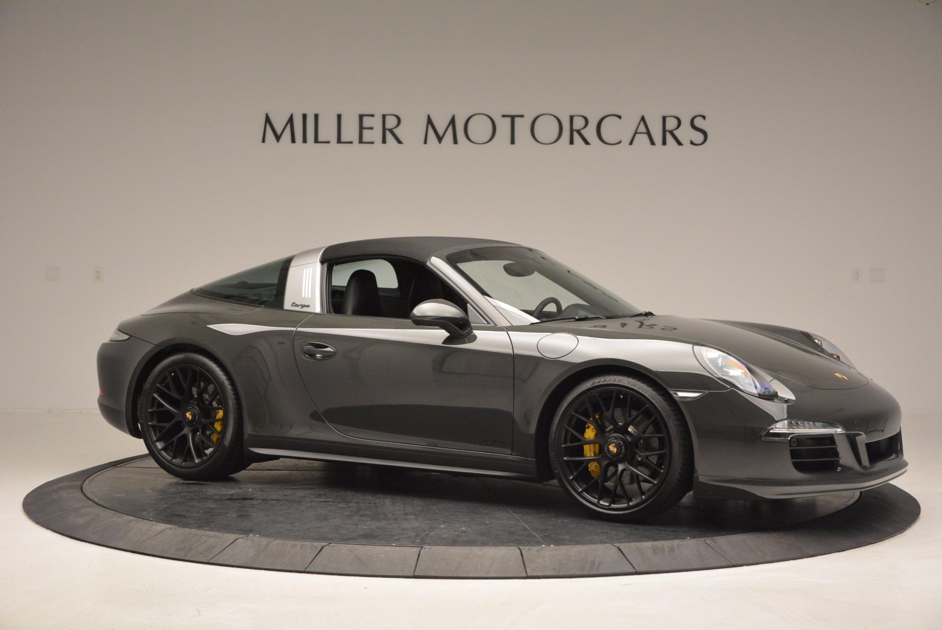 Used 2016 Porsche 911 Targa 4 GTS For Sale In Westport, CT 799_p21