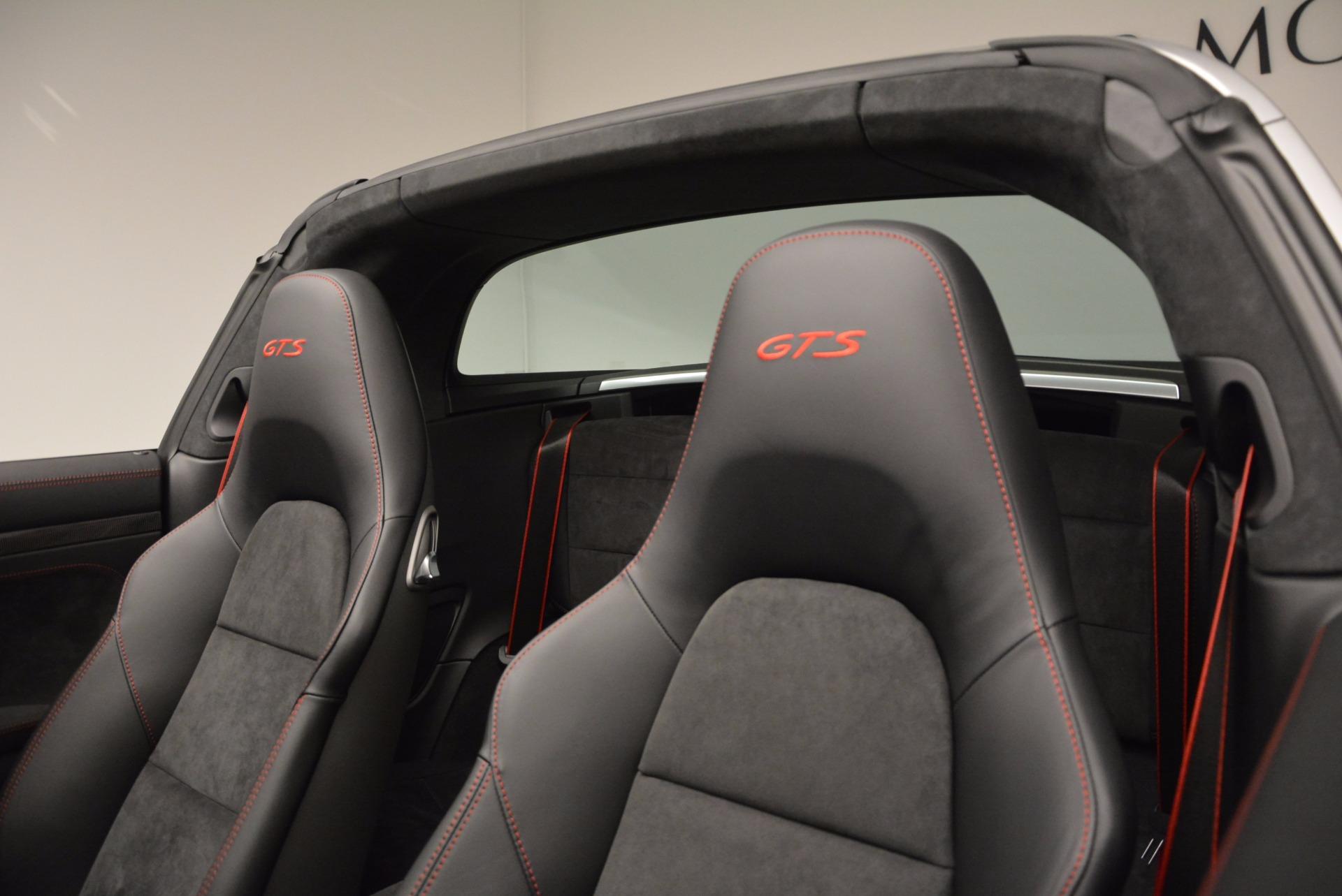 Used 2016 Porsche 911 Targa 4 GTS For Sale In Westport, CT 799_p26