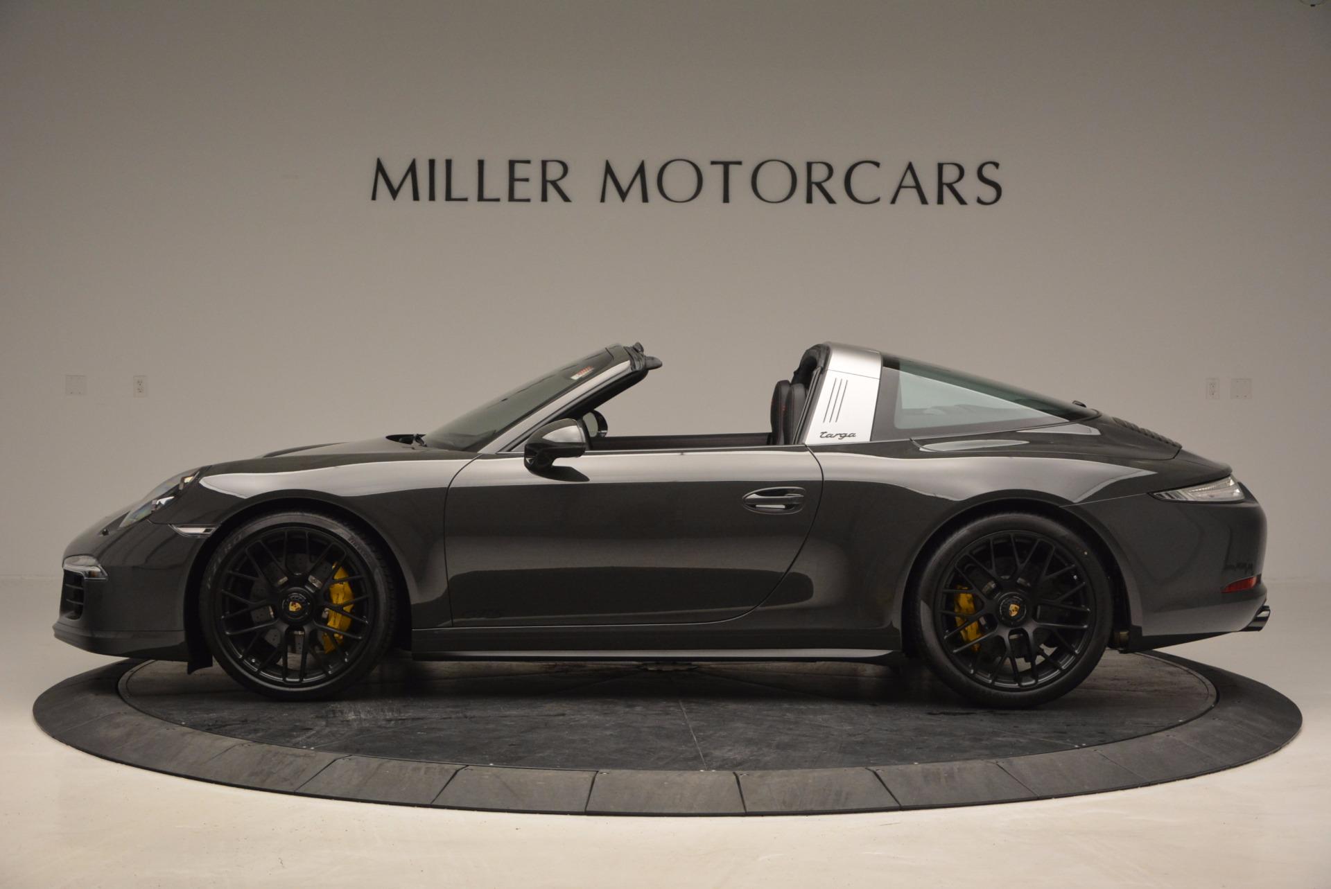 Used 2016 Porsche 911 Targa 4 GTS For Sale In Westport, CT 799_p3