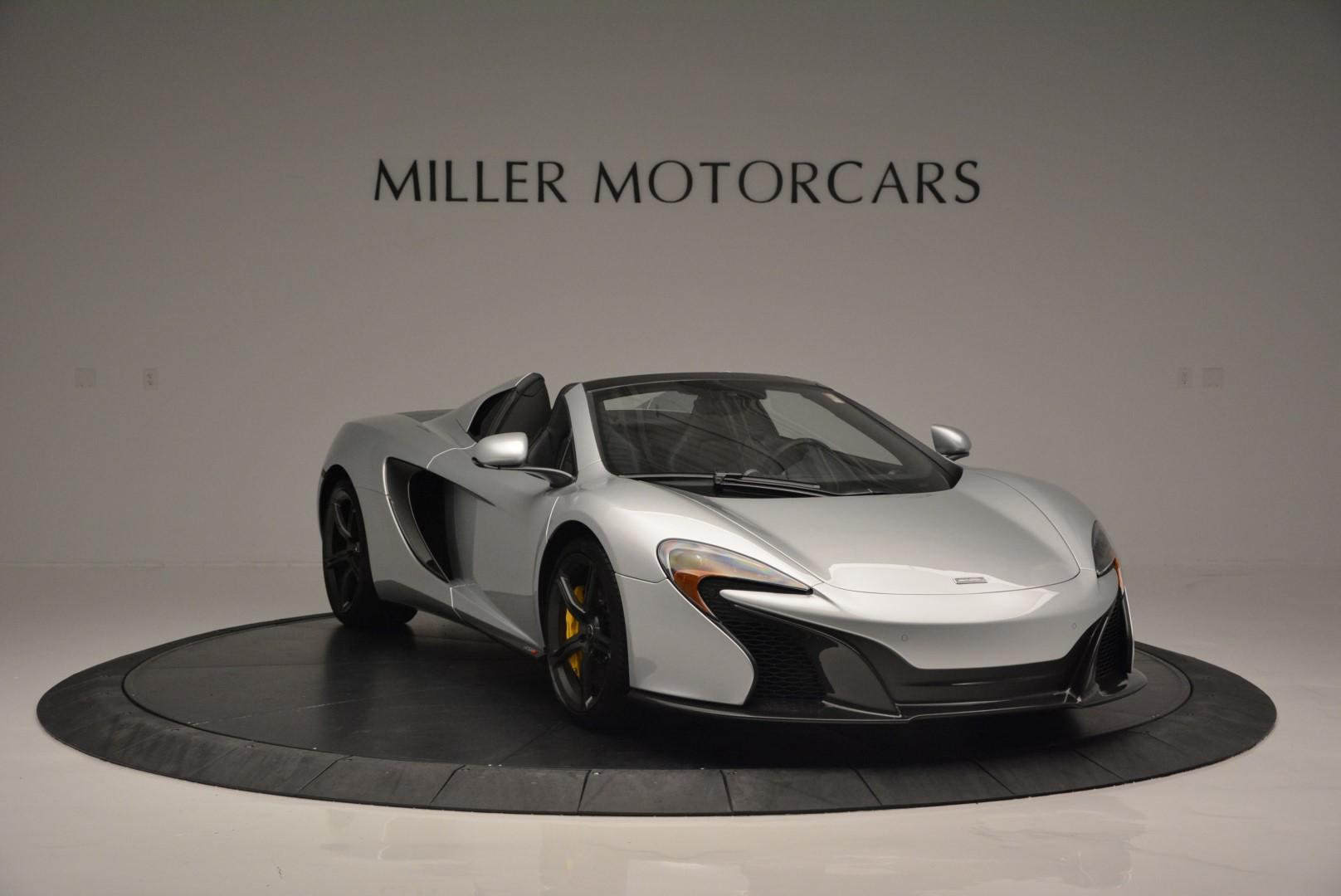 New 2016 McLaren 650S Spider  For Sale In Westport, CT 80_p9