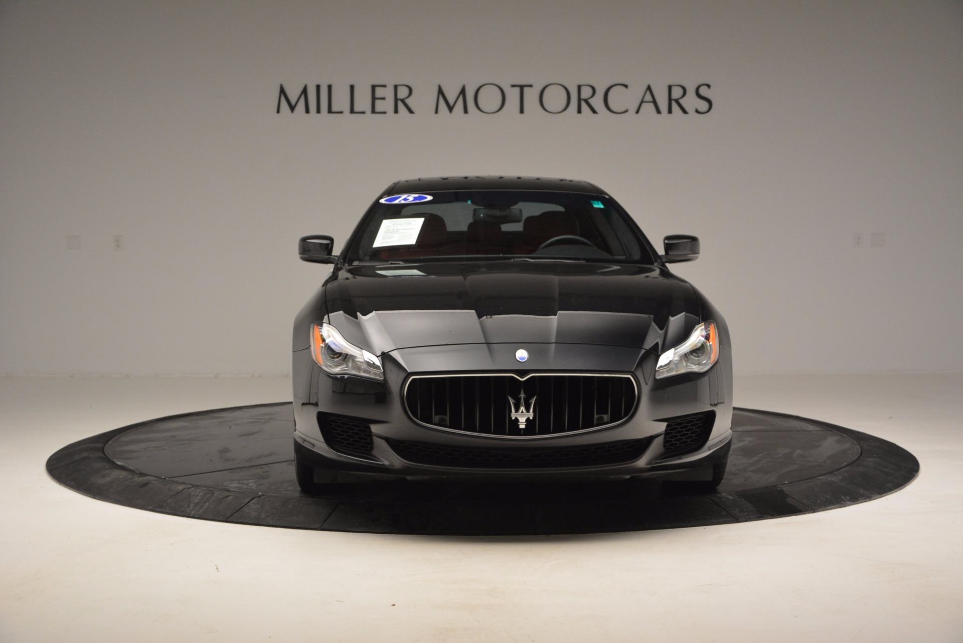 Used 2015 Maserati Quattroporte S Q4 For Sale In Westport, CT 809_p12