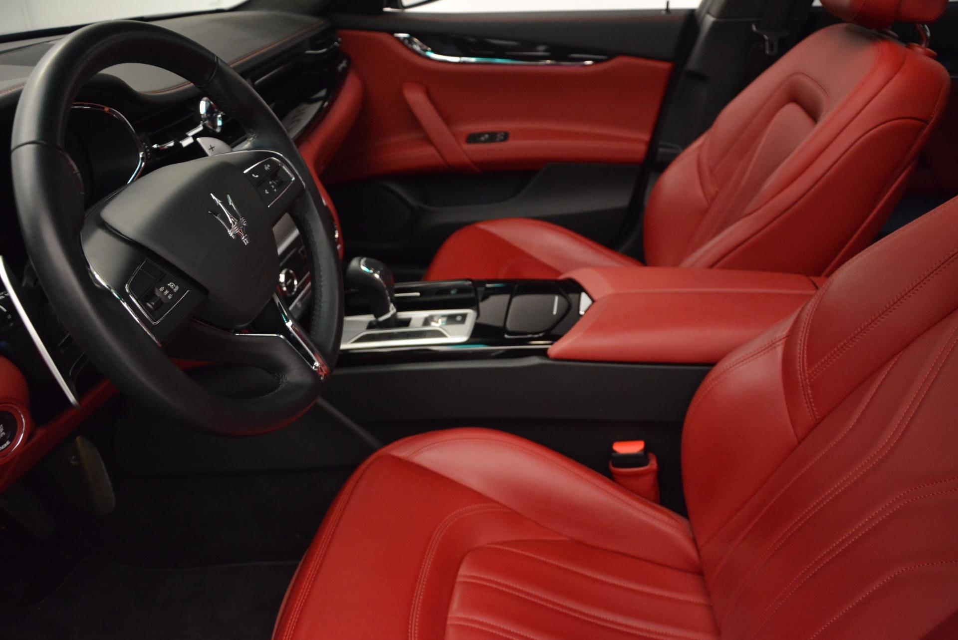 Used 2015 Maserati Quattroporte S Q4 For Sale In Westport, CT 809_p14