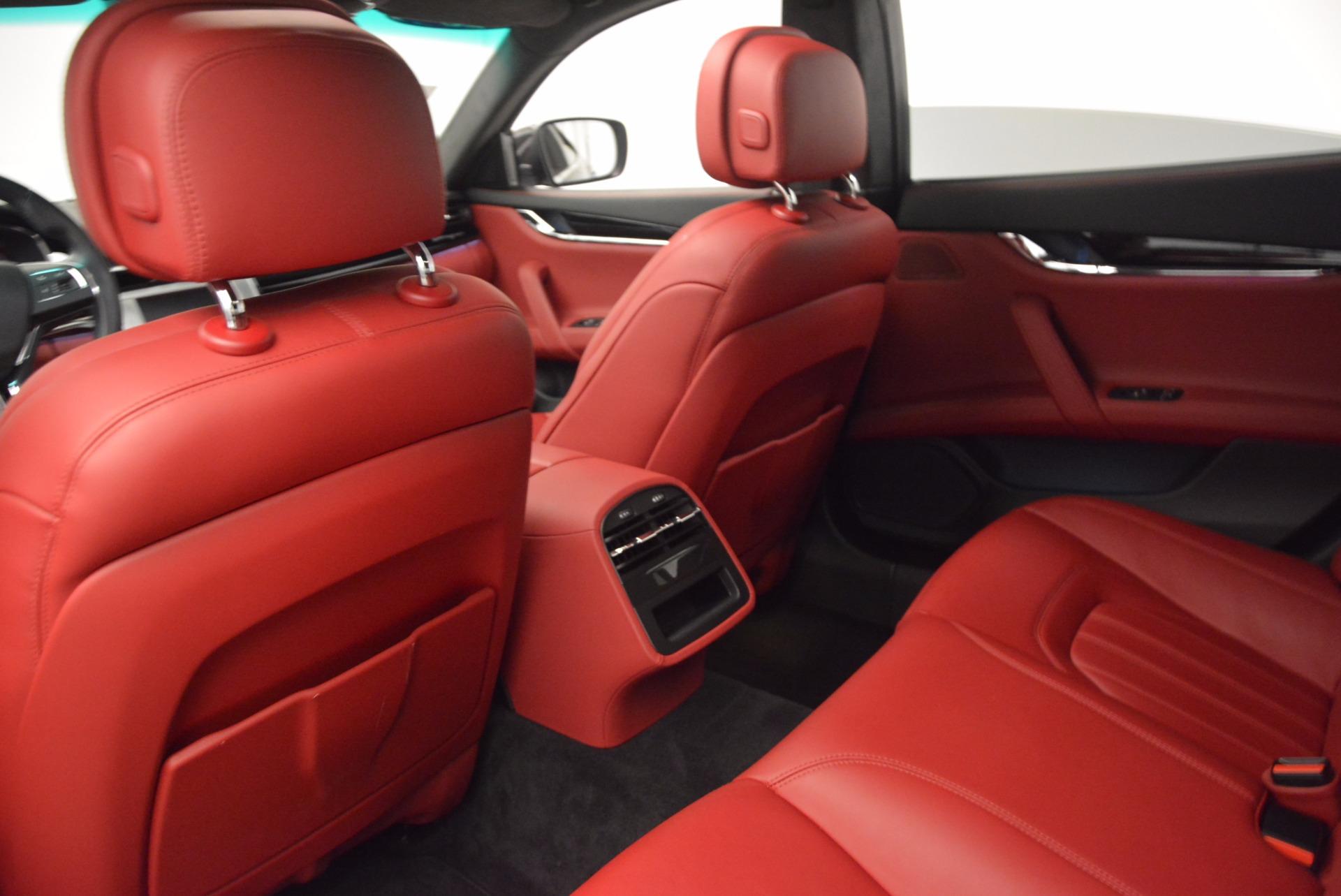 Used 2015 Maserati Quattroporte S Q4 For Sale In Westport, CT 809_p19