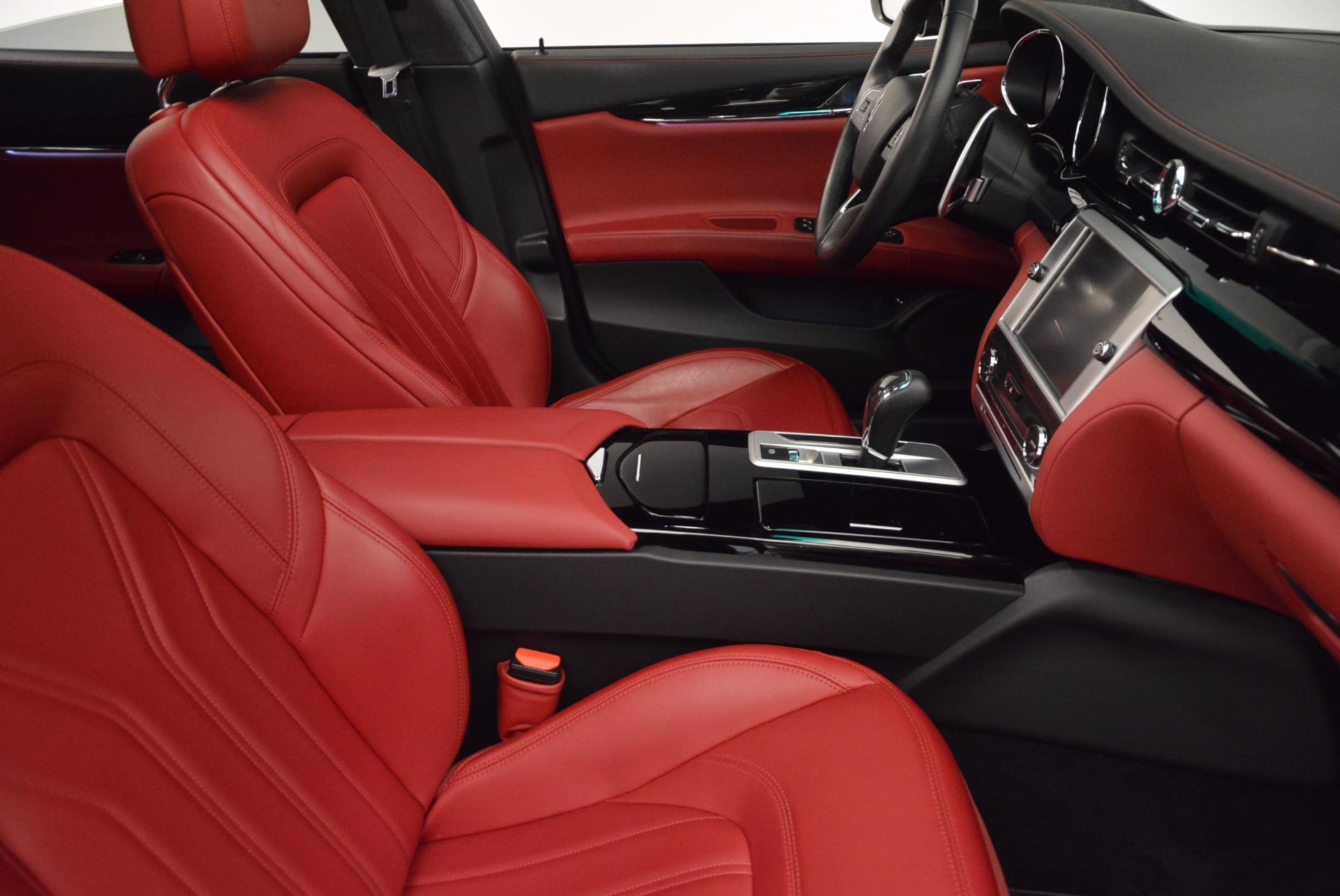 Used 2015 Maserati Quattroporte S Q4 For Sale In Westport, CT 809_p21