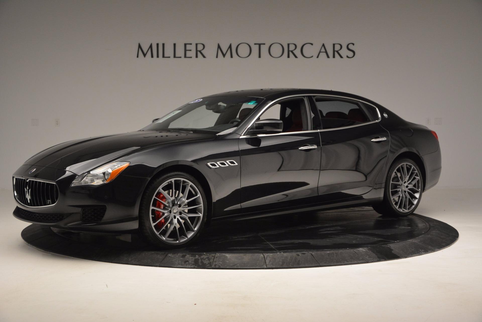 Used 2015 Maserati Quattroporte S Q4 For Sale In Westport, CT 809_p2