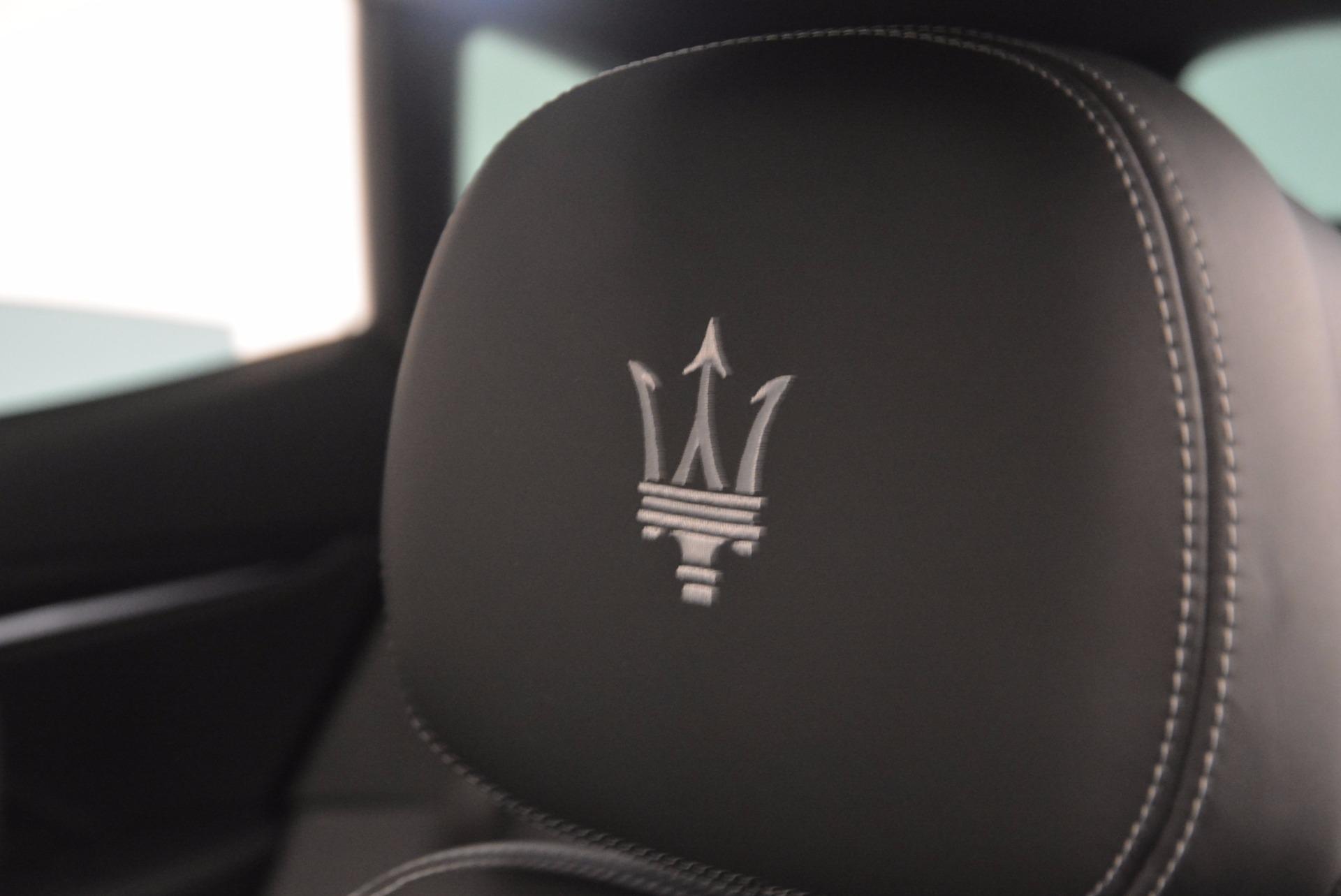 New 2017 Maserati Levante S Q4 For Sale In Westport, CT 811_p16