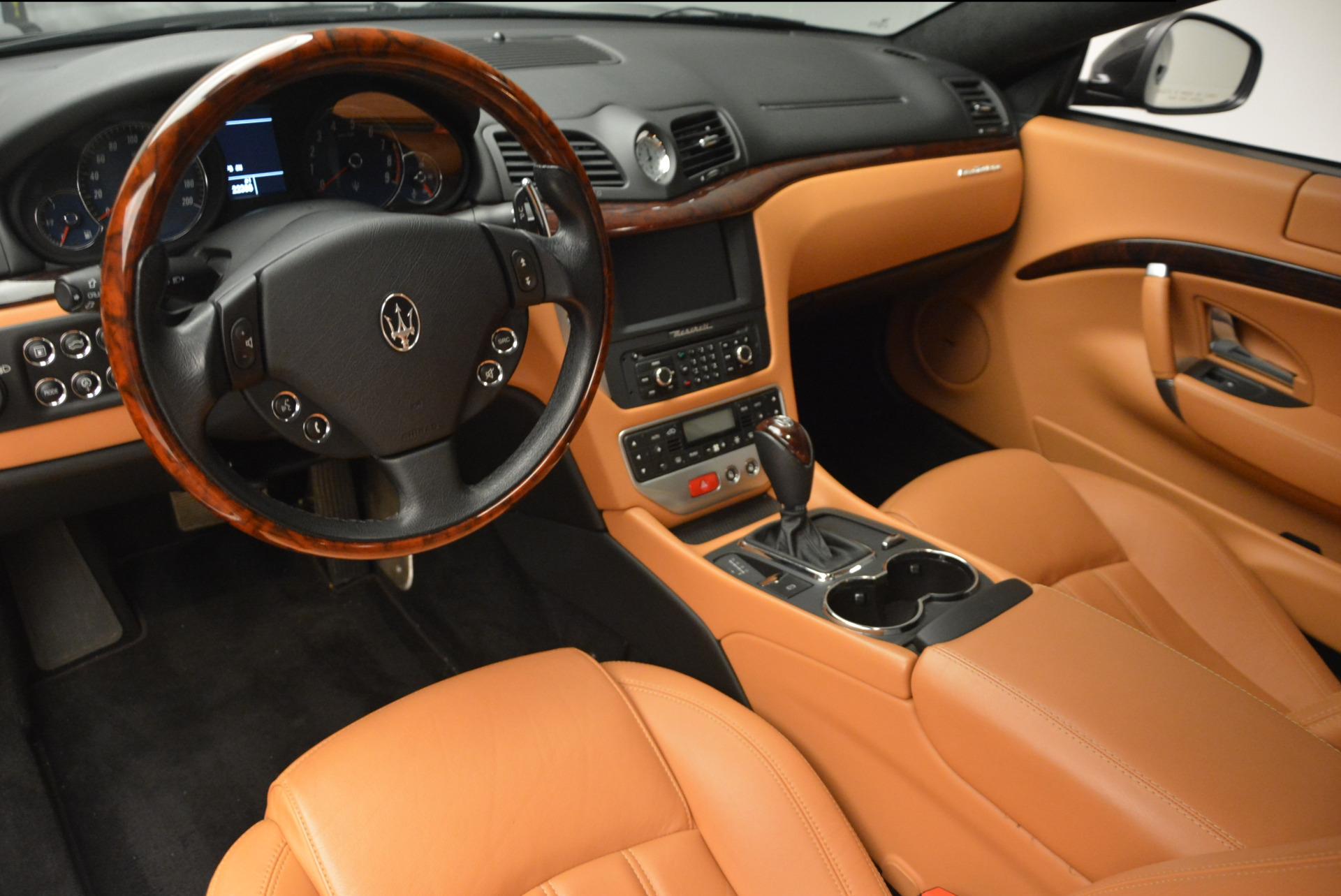 Used 2011 Maserati GranTurismo  For Sale In Westport, CT 816_p13