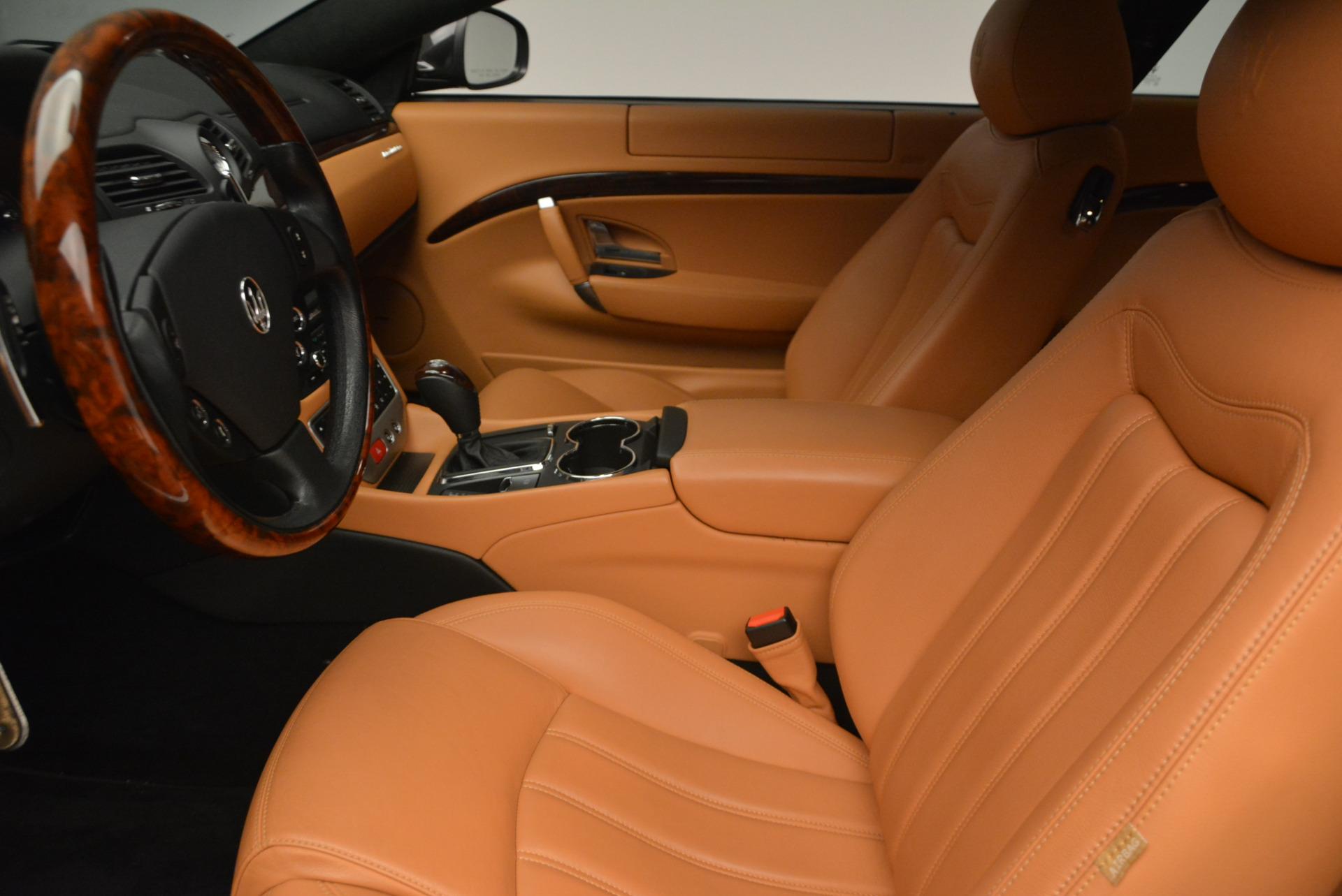 Used 2011 Maserati GranTurismo  For Sale In Westport, CT 816_p14