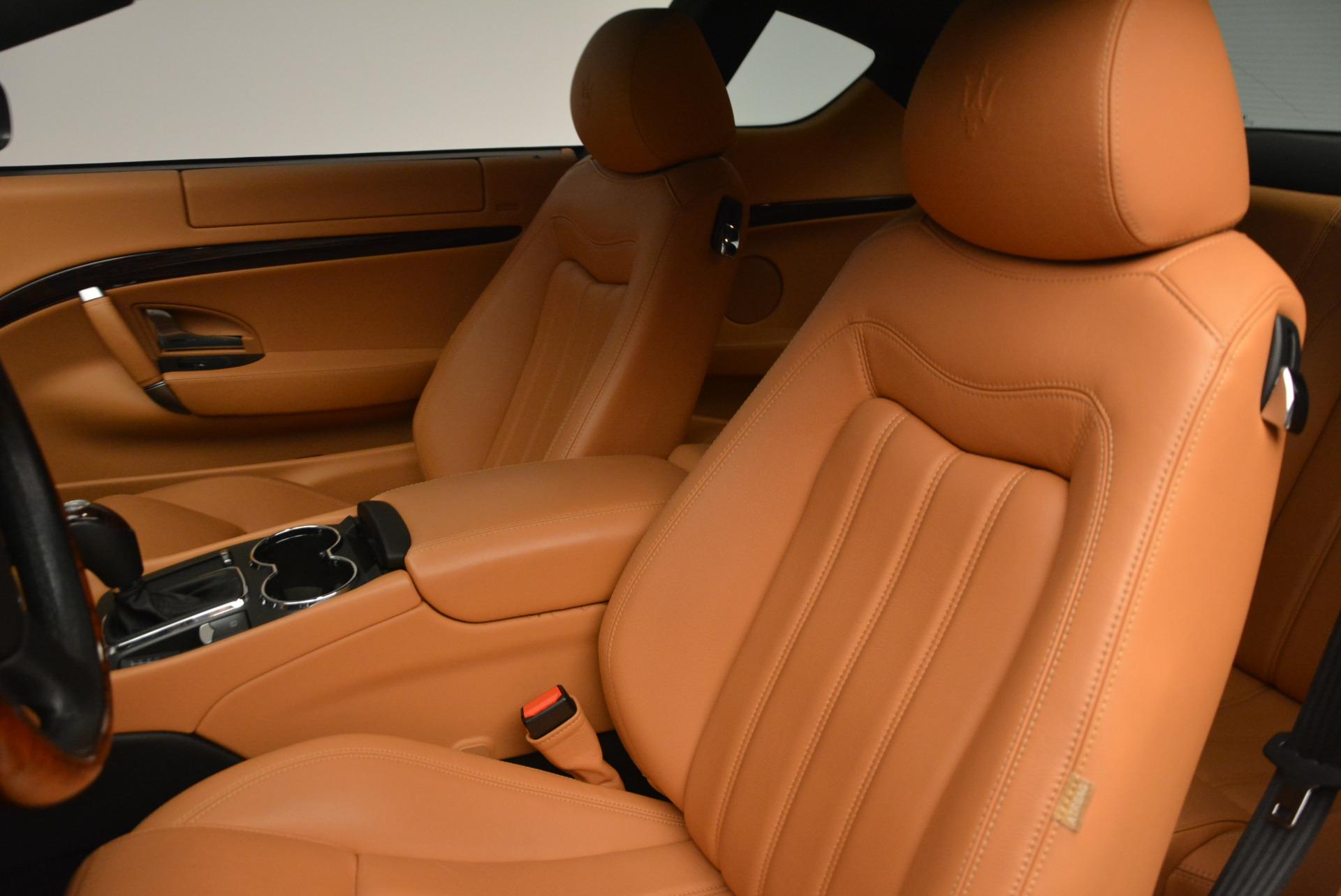 Used 2011 Maserati GranTurismo  For Sale In Westport, CT 816_p15