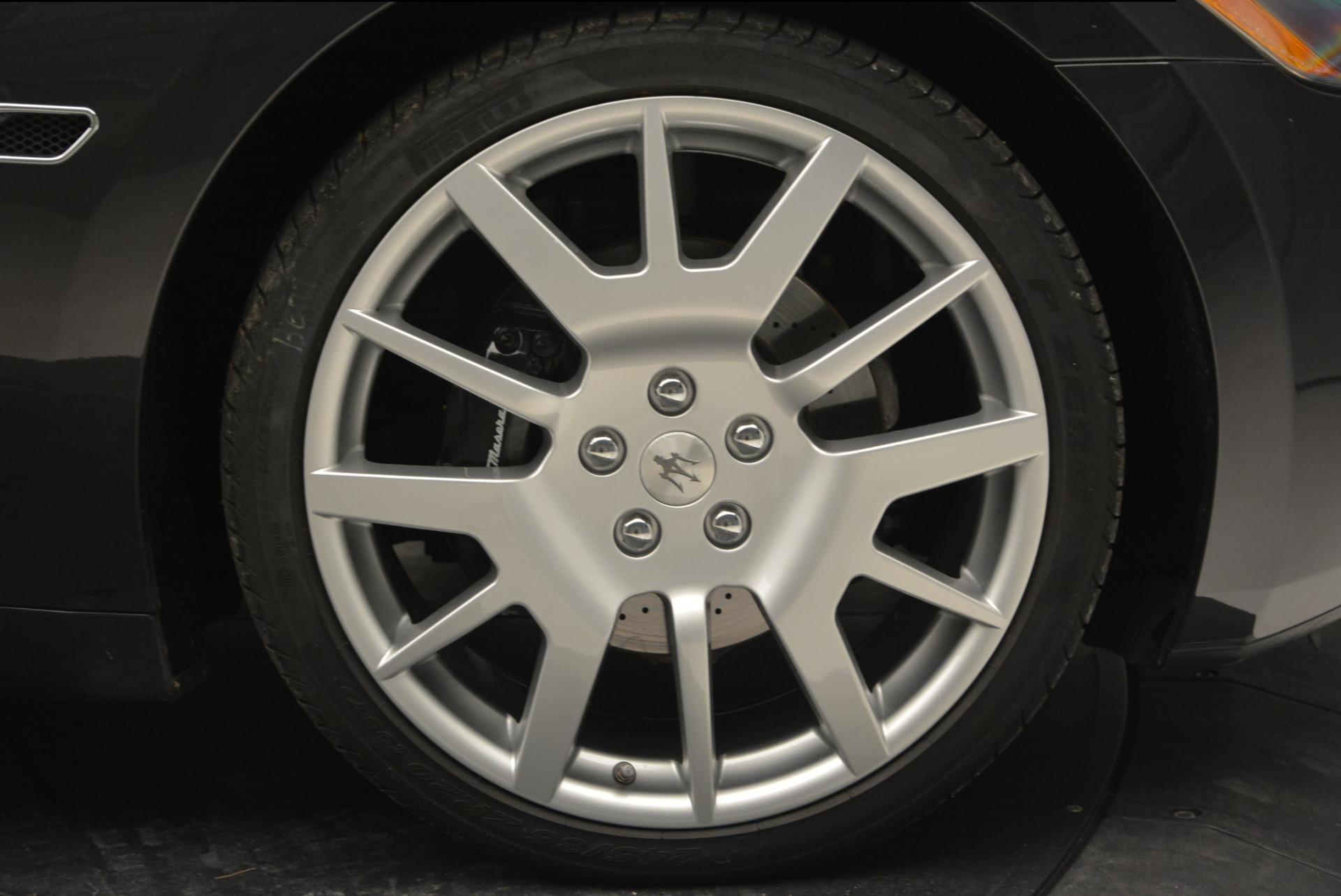 Used 2011 Maserati GranTurismo  For Sale In Westport, CT 816_p22