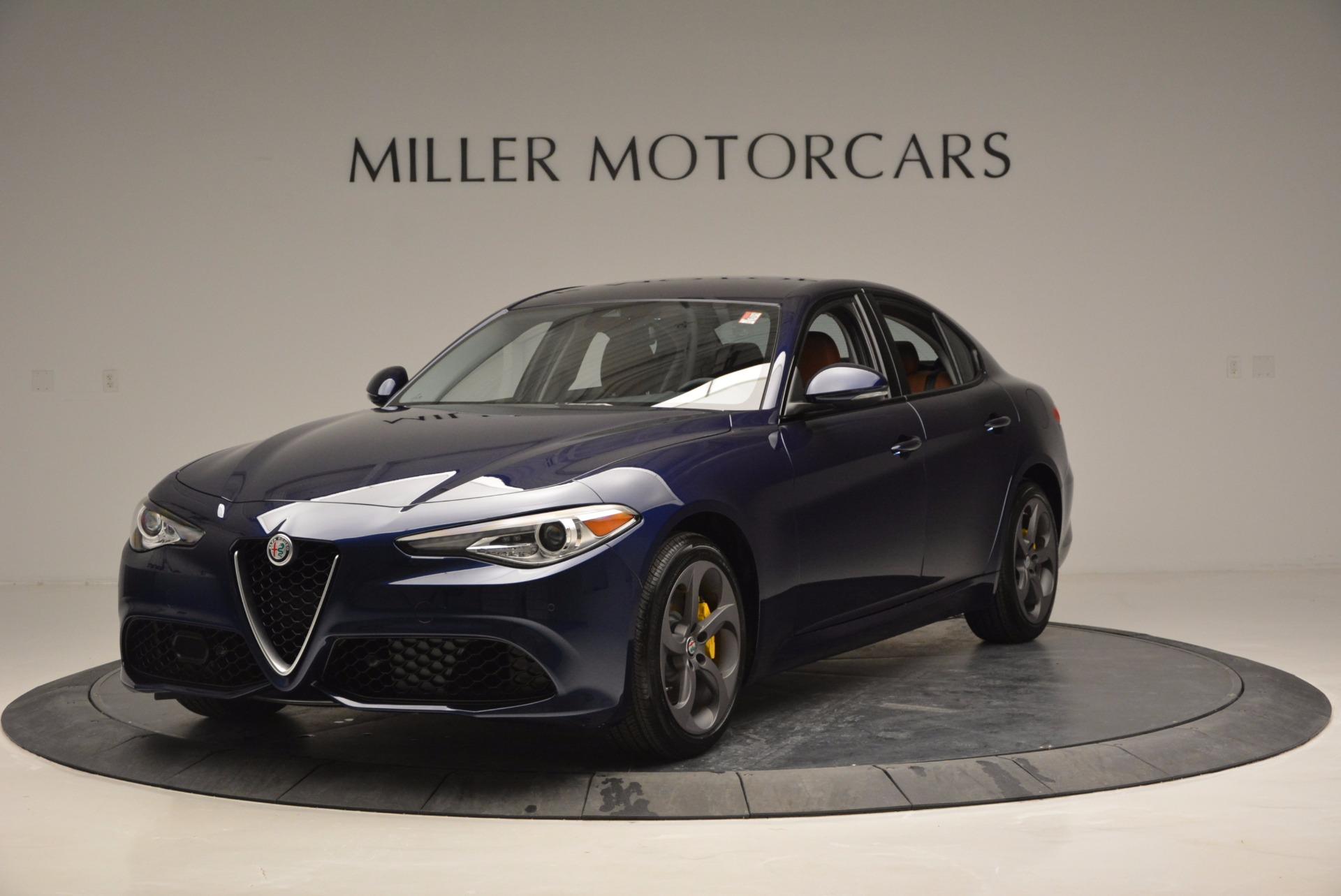 New 2017 Alfa Romeo Giulia Q4 For Sale In Westport, CT 829_main