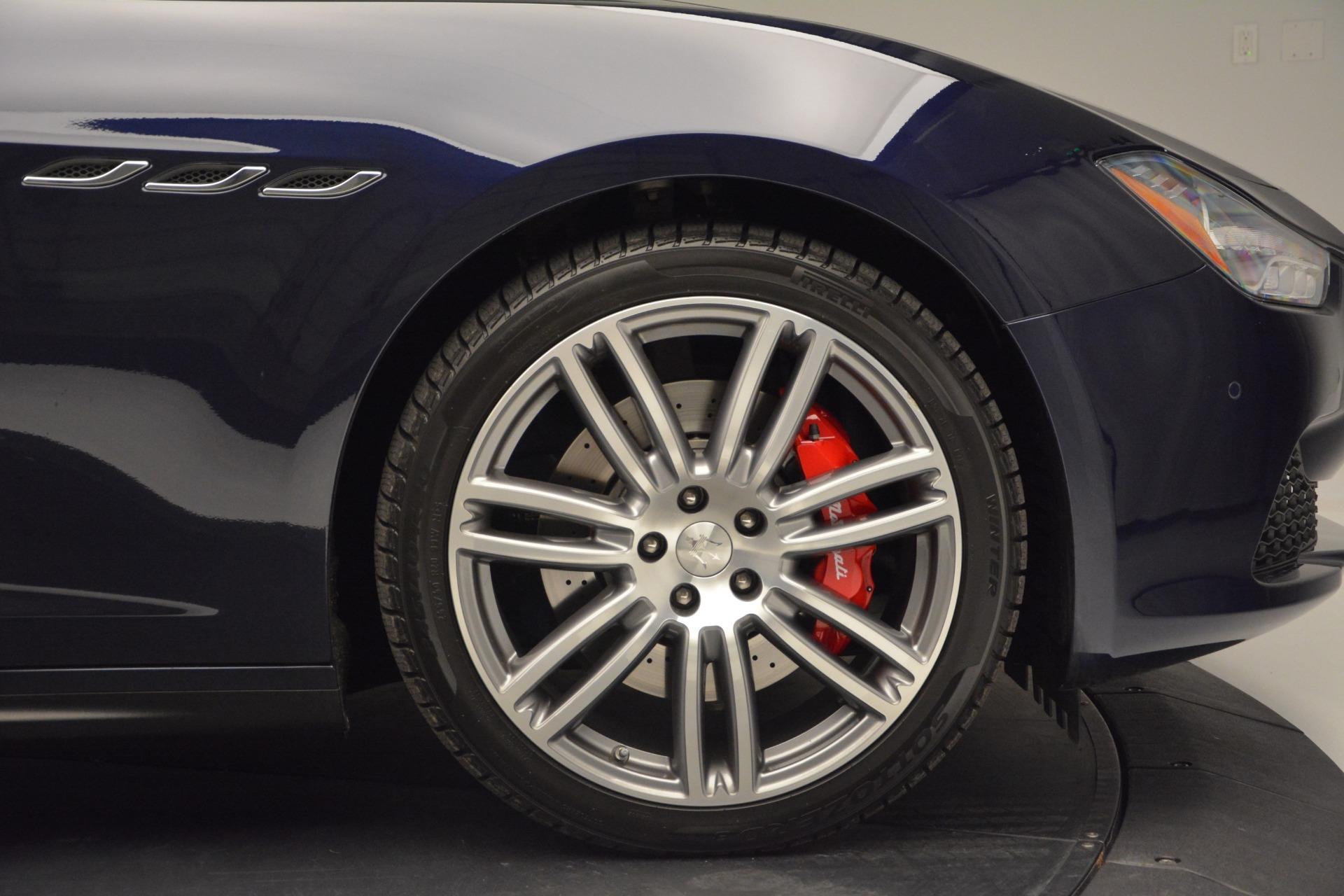 New 2017 Maserati Ghibli S Q4 For Sale In Westport, CT 849_p27