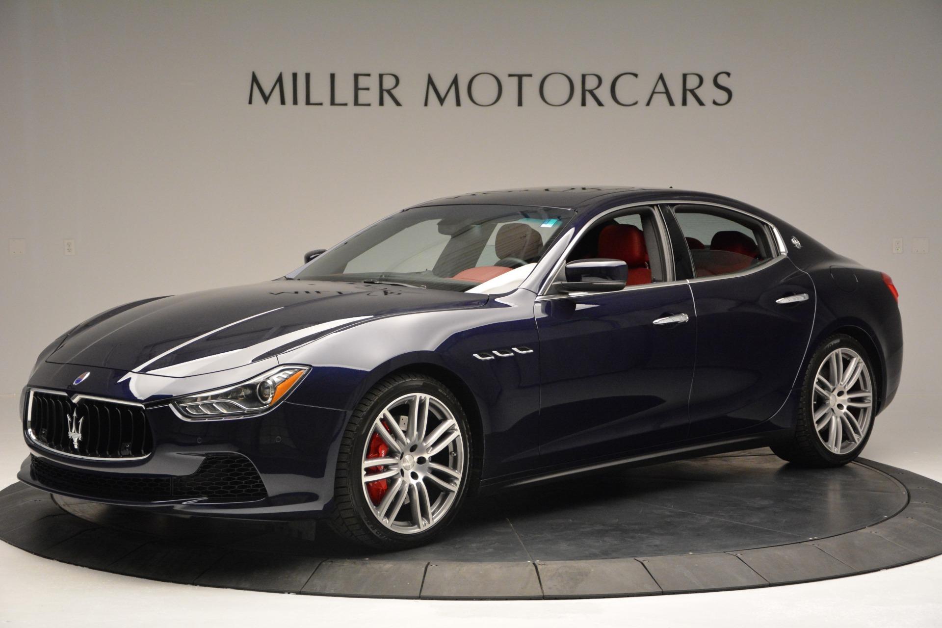 New 2017 Maserati Ghibli S Q4 For Sale In Westport, CT 849_p2