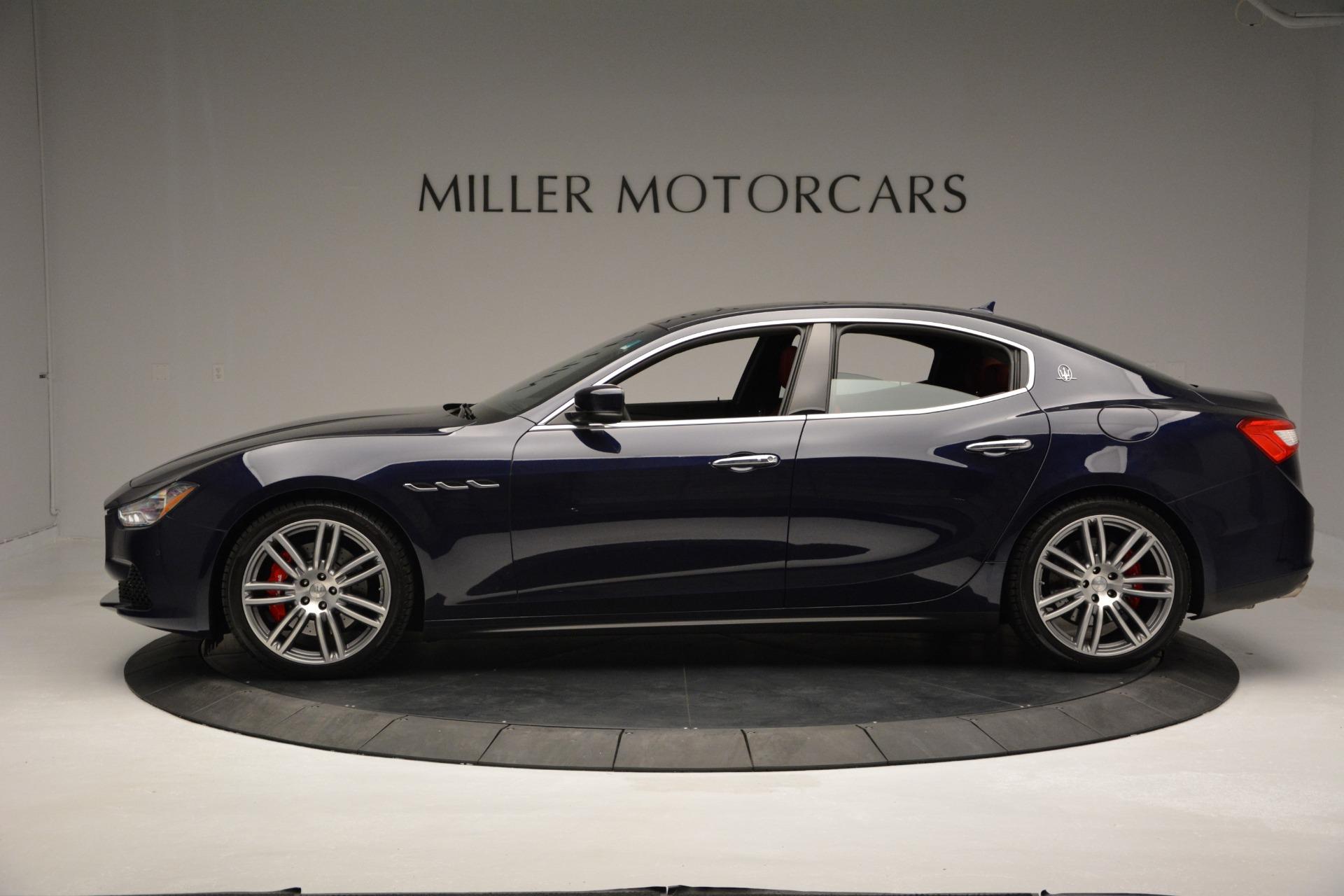 New 2017 Maserati Ghibli S Q4 For Sale In Westport, CT 849_p3