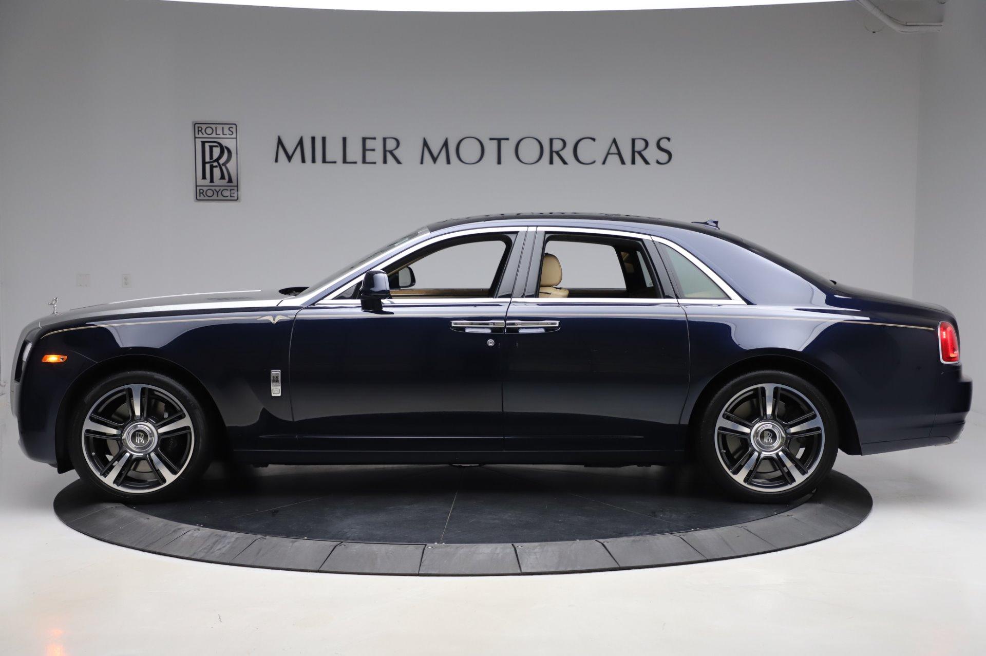 Used 2014 Rolls-Royce Ghost V-Spec For Sale In Westport, CT 858_p3