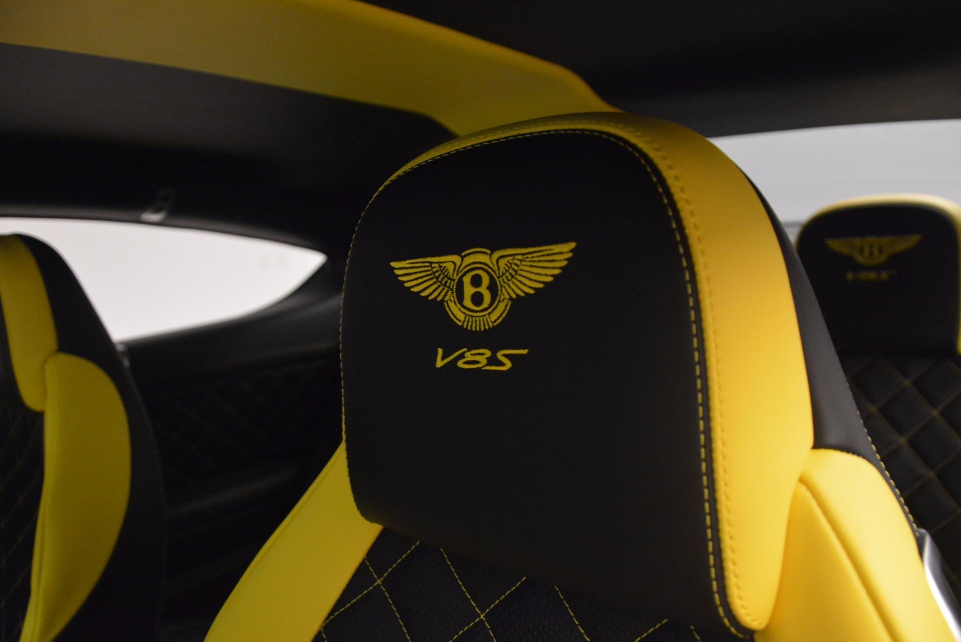 New 2017 Bentley Continental GT V8 S For Sale In Westport, CT 859_p27