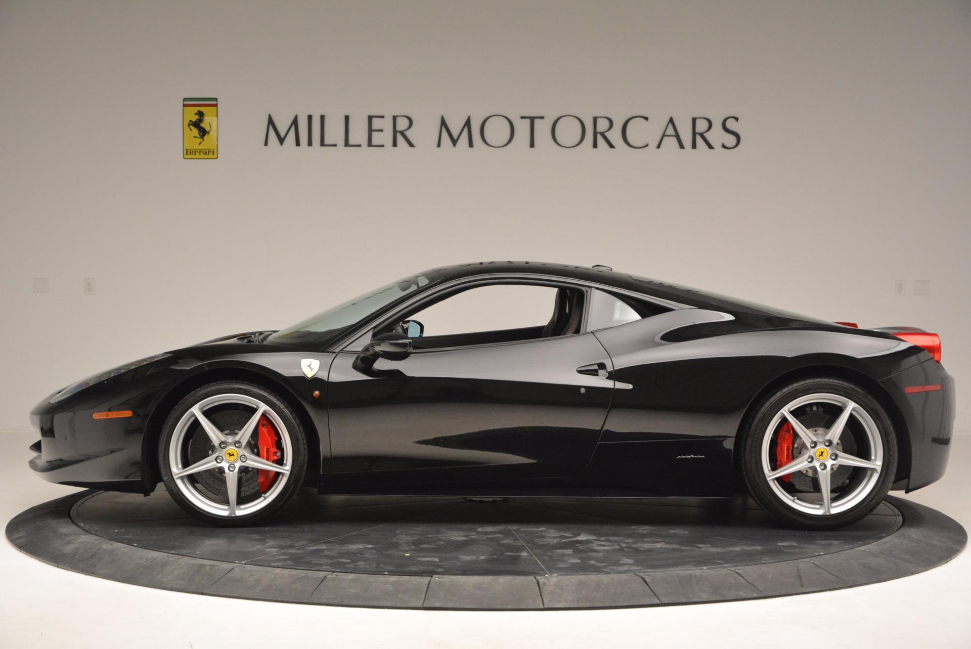 Used 2013 Ferrari 458 Italia  For Sale In Westport, CT 889_p3