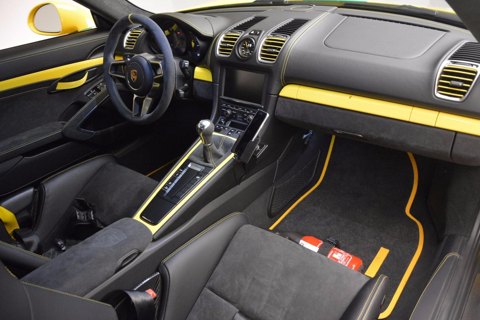 Used 2016 Porsche Cayman GT4 For Sale In Westport, CT 897_p16