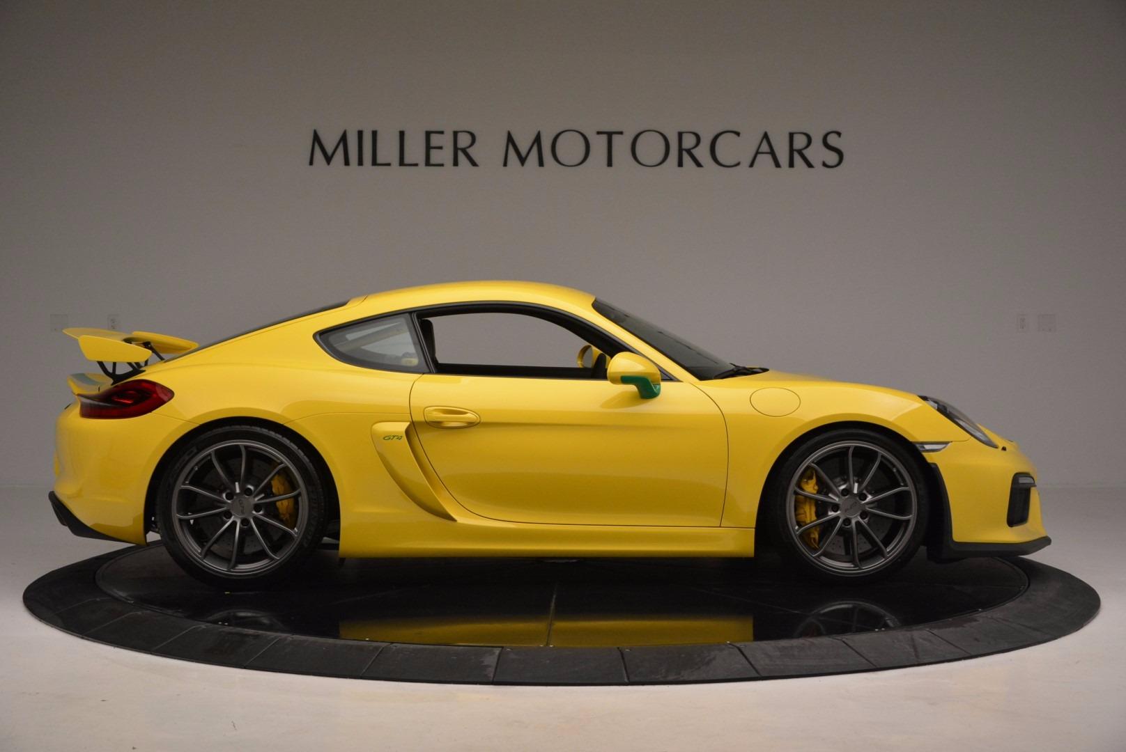 Used 2016 Porsche Cayman GT4 For Sale In Westport, CT 897_p9