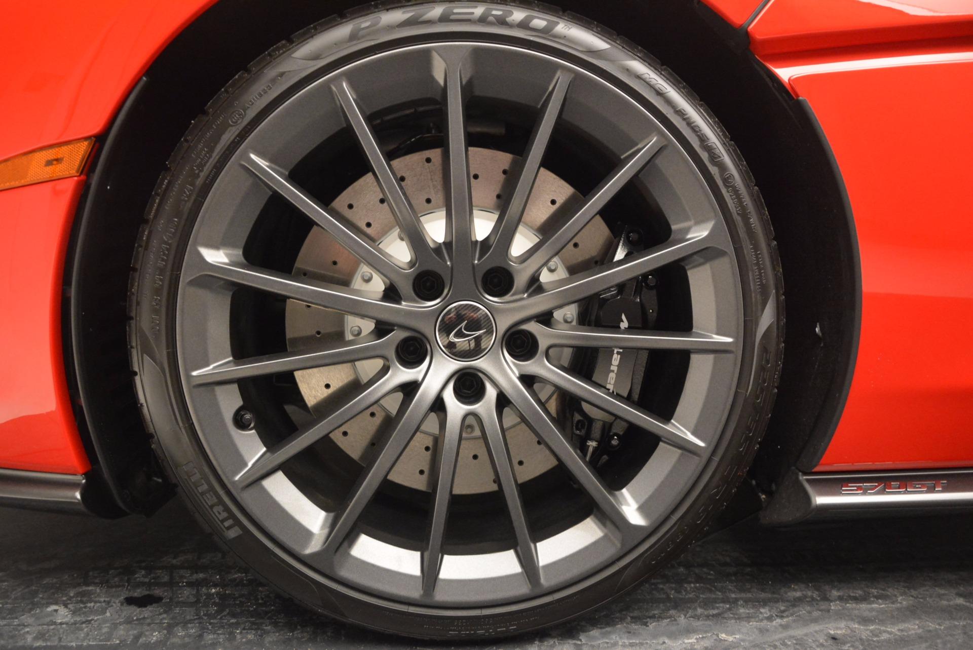 Used 2017 McLaren 570GT Coupe For Sale In Westport, CT 907_p13