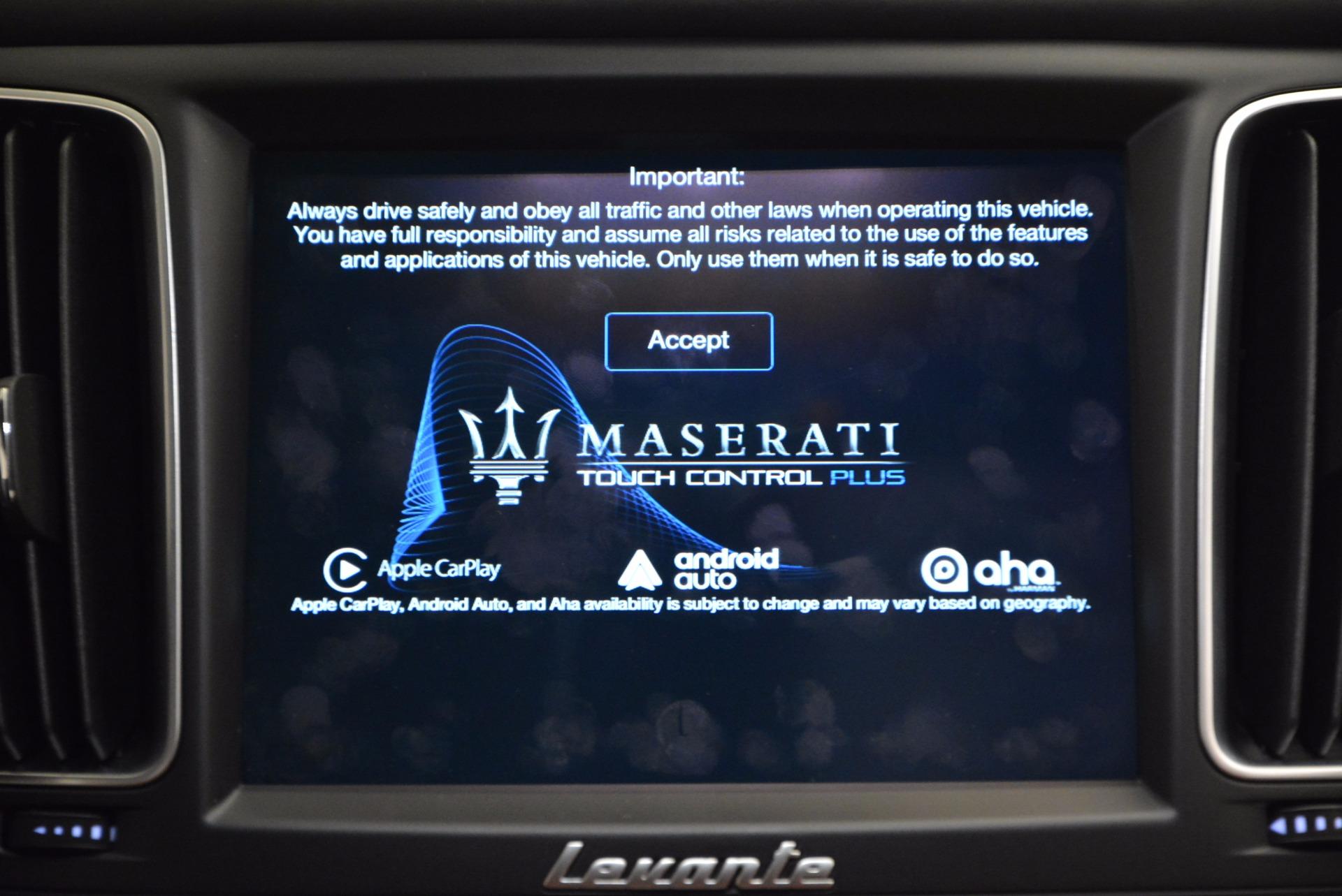 New 2017 Maserati Levante  For Sale In Westport, CT 915_p25